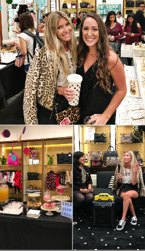 The Salty Blonde - Halley Elefante - Kate Spade Honolulu - Kate Spade Leopard Leopard Leopard - Kate Spade Collection - Communikait by Kait Hanson - Kate Spade Styling