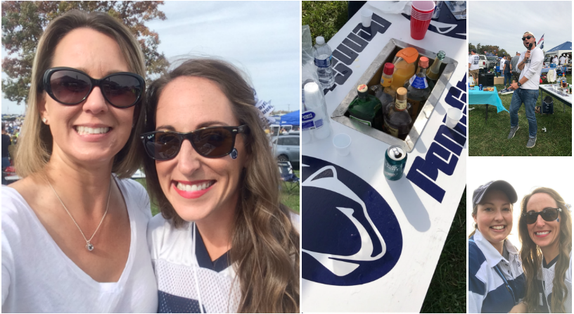 Penn State Football Game - Penn State Michigan Game -Beaver Stadium White Out - College Gameday - College Football - Penn State University - Communikait by Kait Hanson