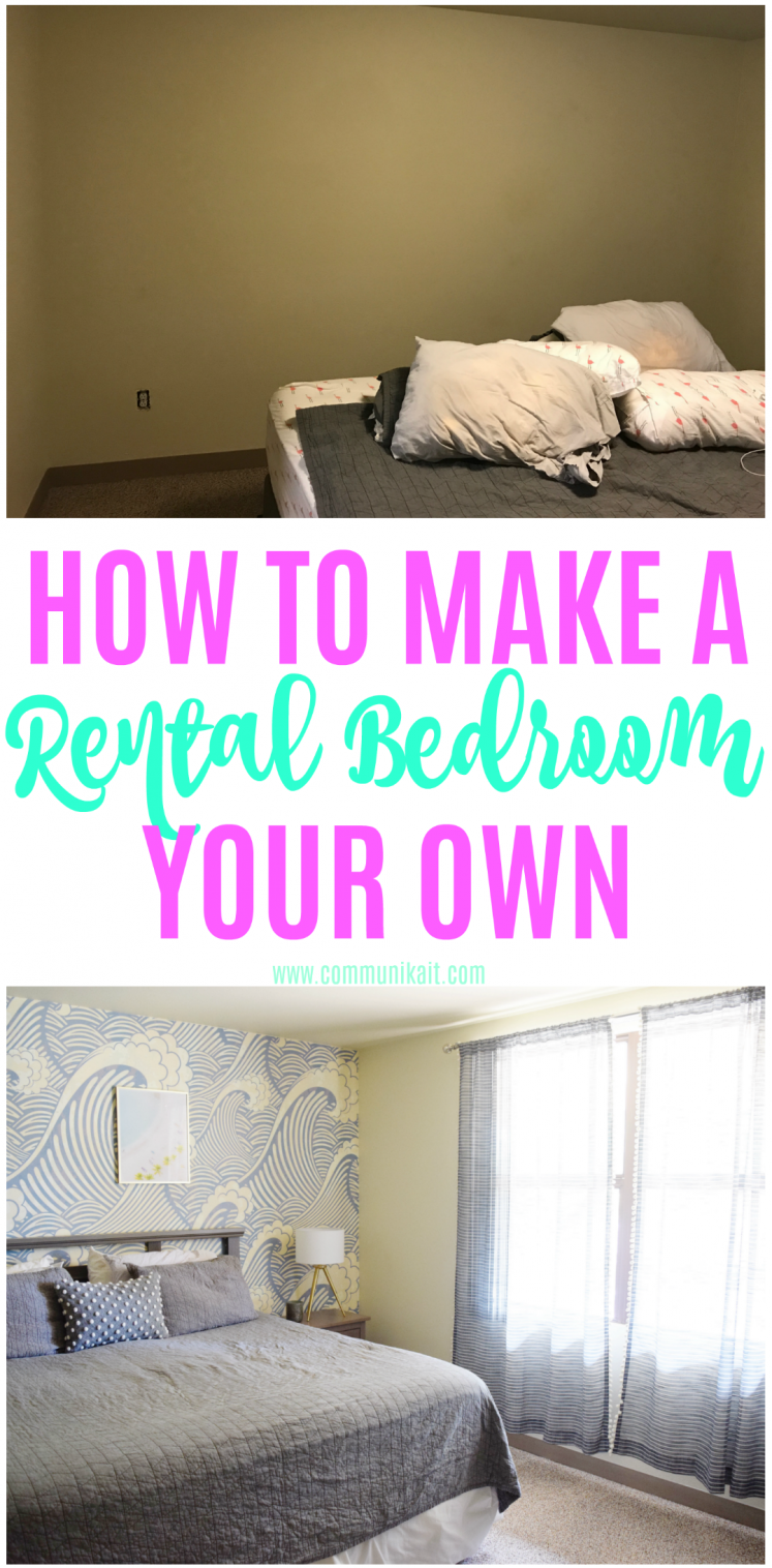 How To Make A Rental Your Own: Master Bedroom Edition