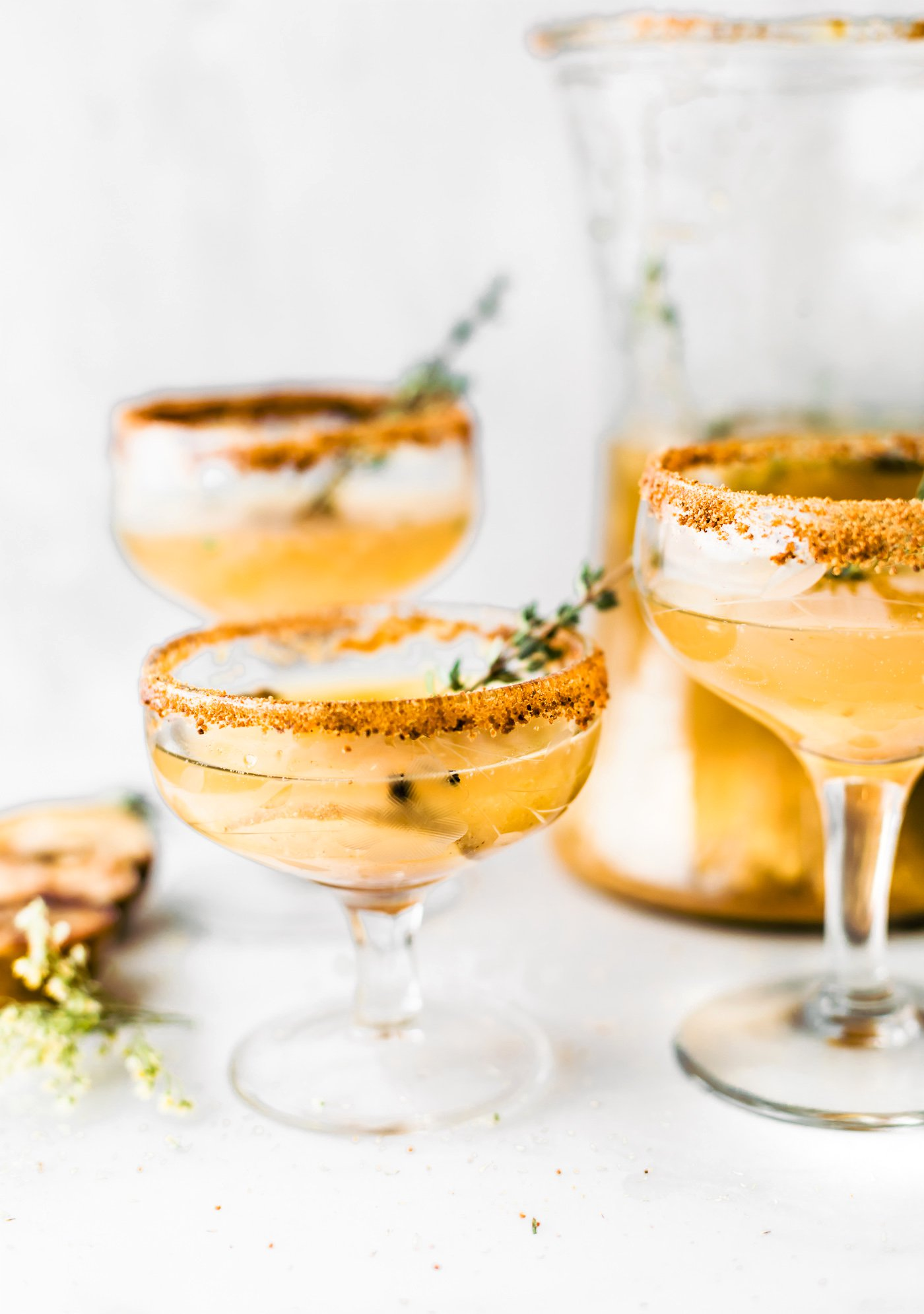 HONEY ROASTED PEAR SPARKLING COCKTAIL - - 12 Festive Cocktails For Any Holiday Occasion - Communikait by Kait Hanson