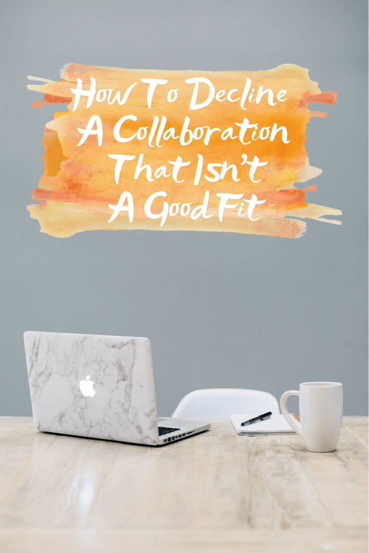 How To Decline A Collaboration That Isn't A Good Fit - Coffee cup, MAC Compter