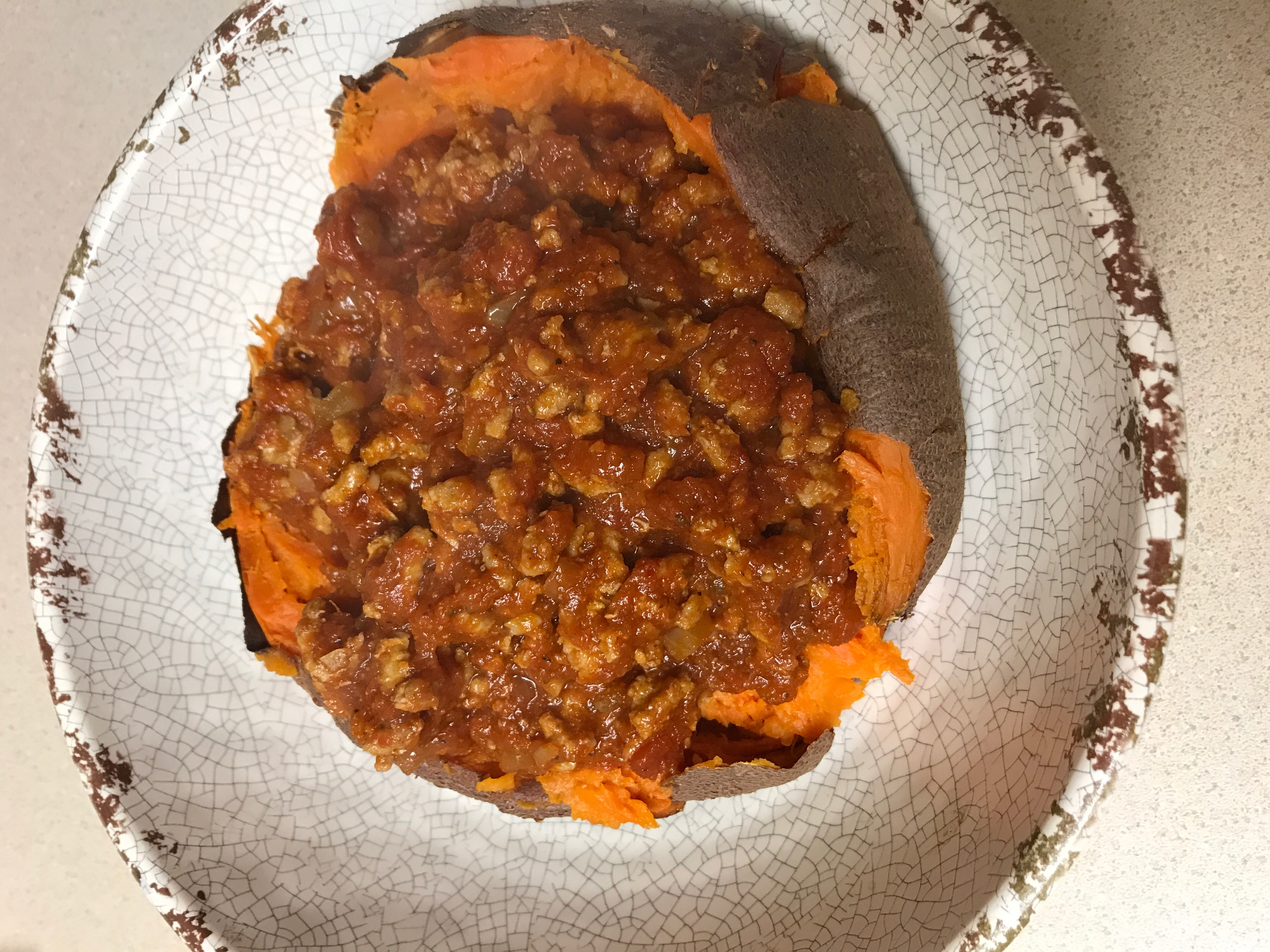 Enchilada Sweet Potatoes -Meal Planning + What We Ate Last Week - Communikait by Kait Hanson