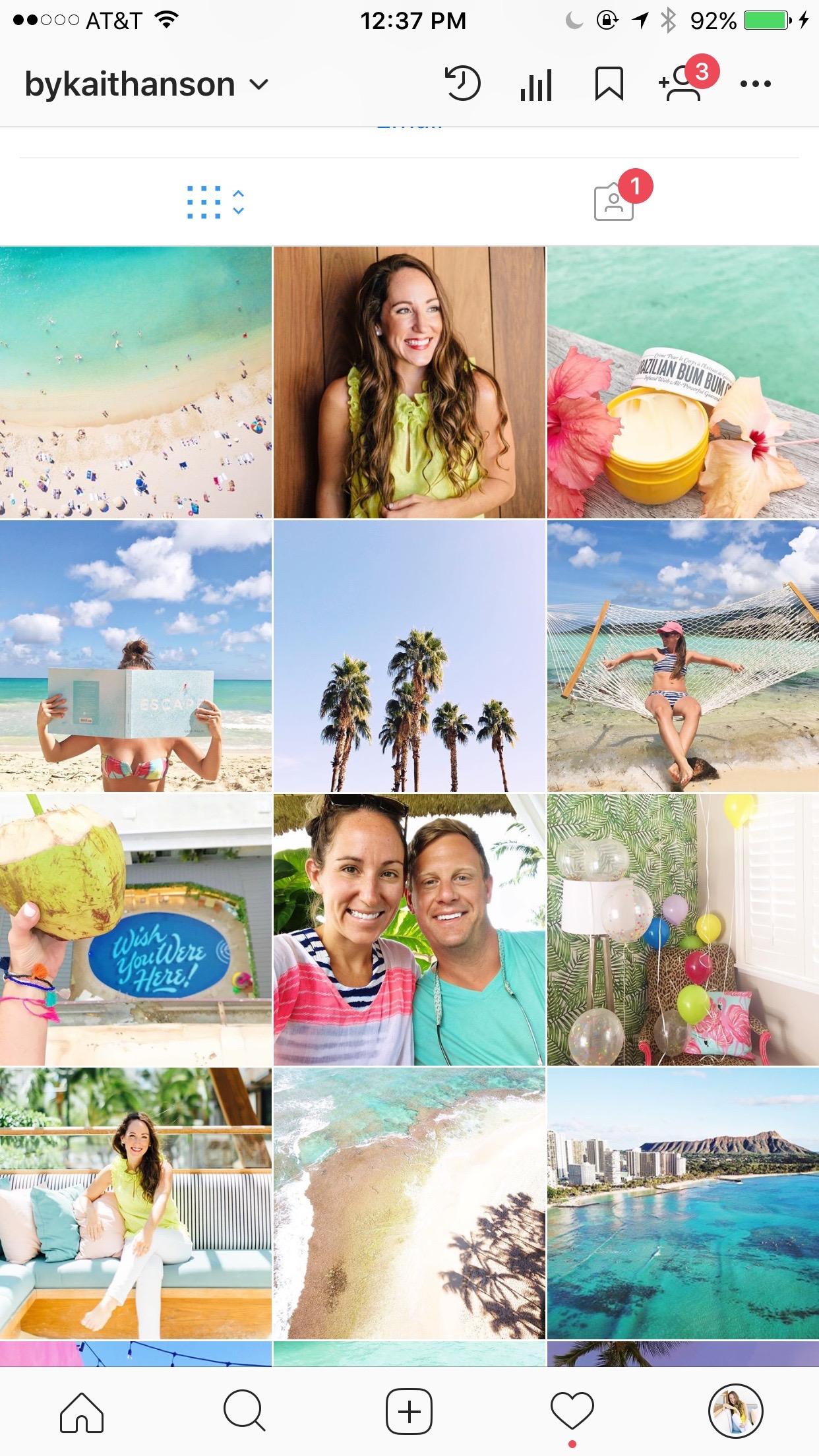 The Great Instagram Debate: Curation + Authenticity - Communikait by Kait Hanson
