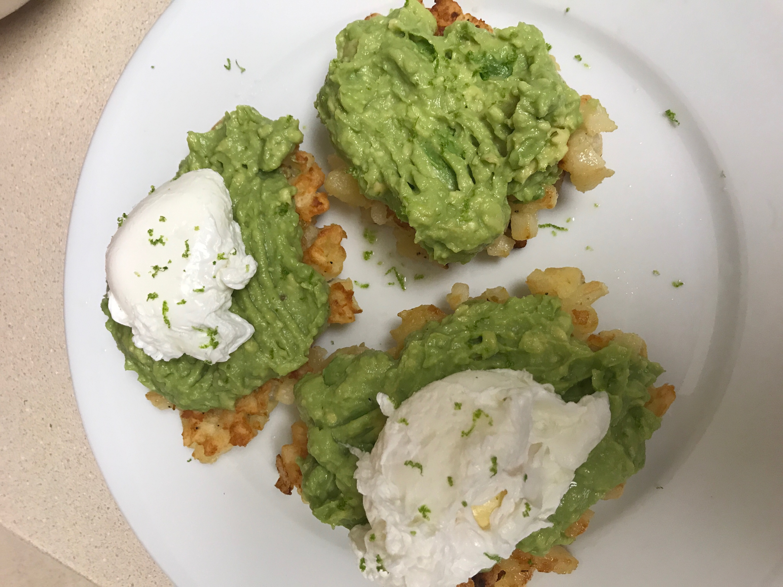 Hashbrown Avocado Toast - Meal Planning + What We Ate Last Week - Communikait by Kait Hanson