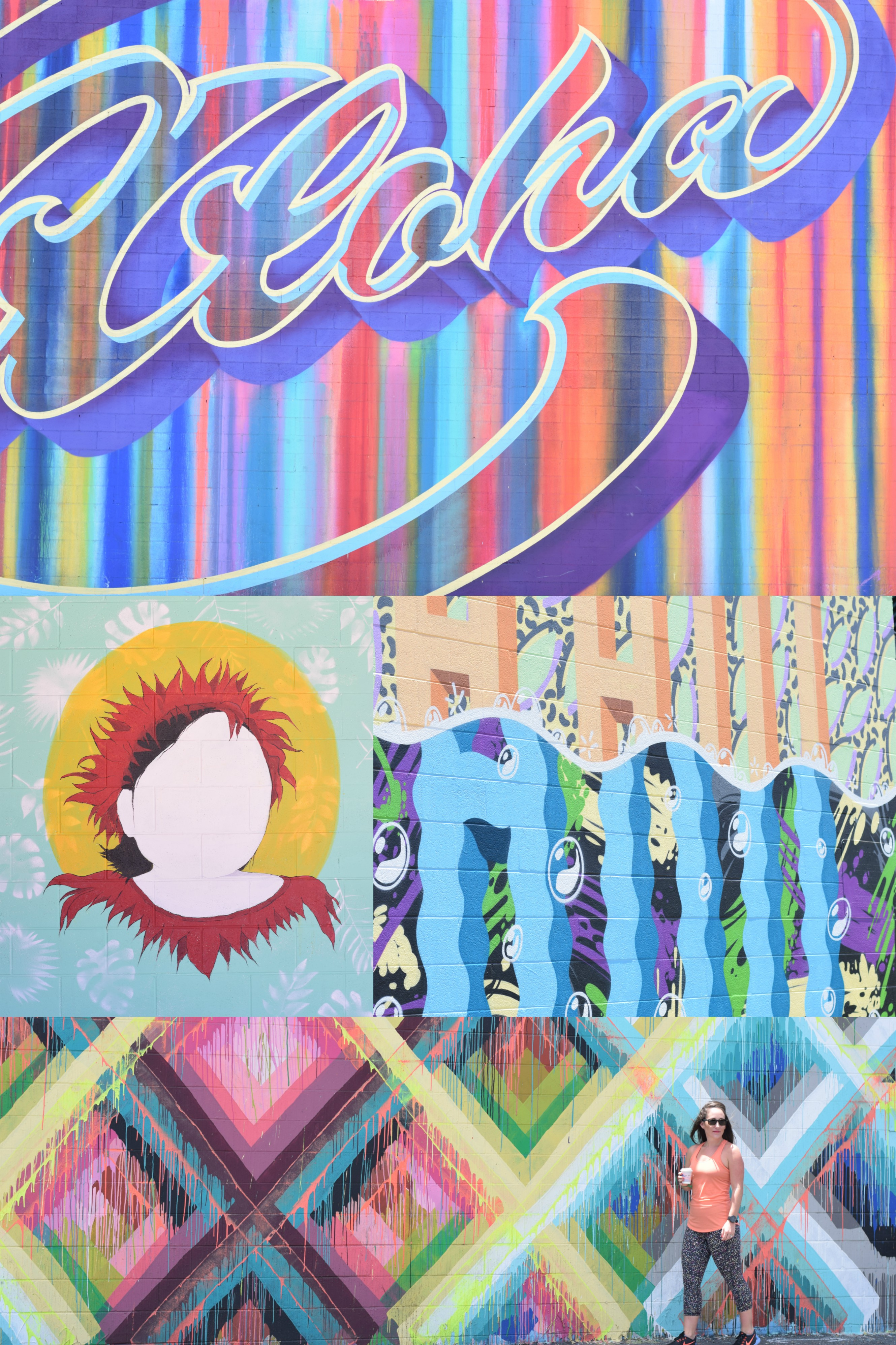 Kakaako Wall Murals - The Instagram Guide To Honolulu - Instagram Worthy Spots Honolulu - Oahu Guide For Instagram - Best Places To Take Photos Honolulu - Oahu Vacation Guide - Where To Visit Hawaii - Hawaii Itinerary - Communikait by Kait Hanson