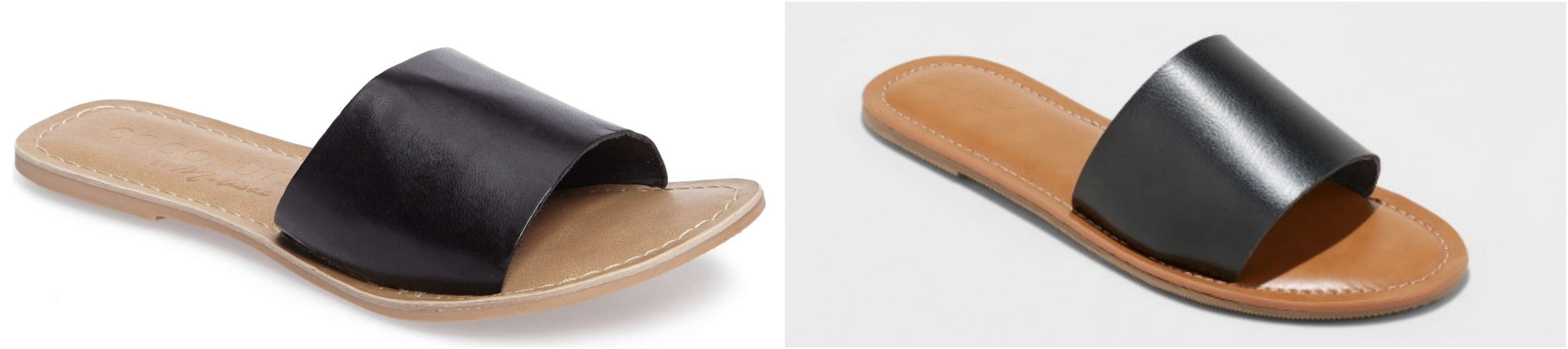 Leather Slides - Best Target Shoe Dupes - Communikait by Kait Hanson