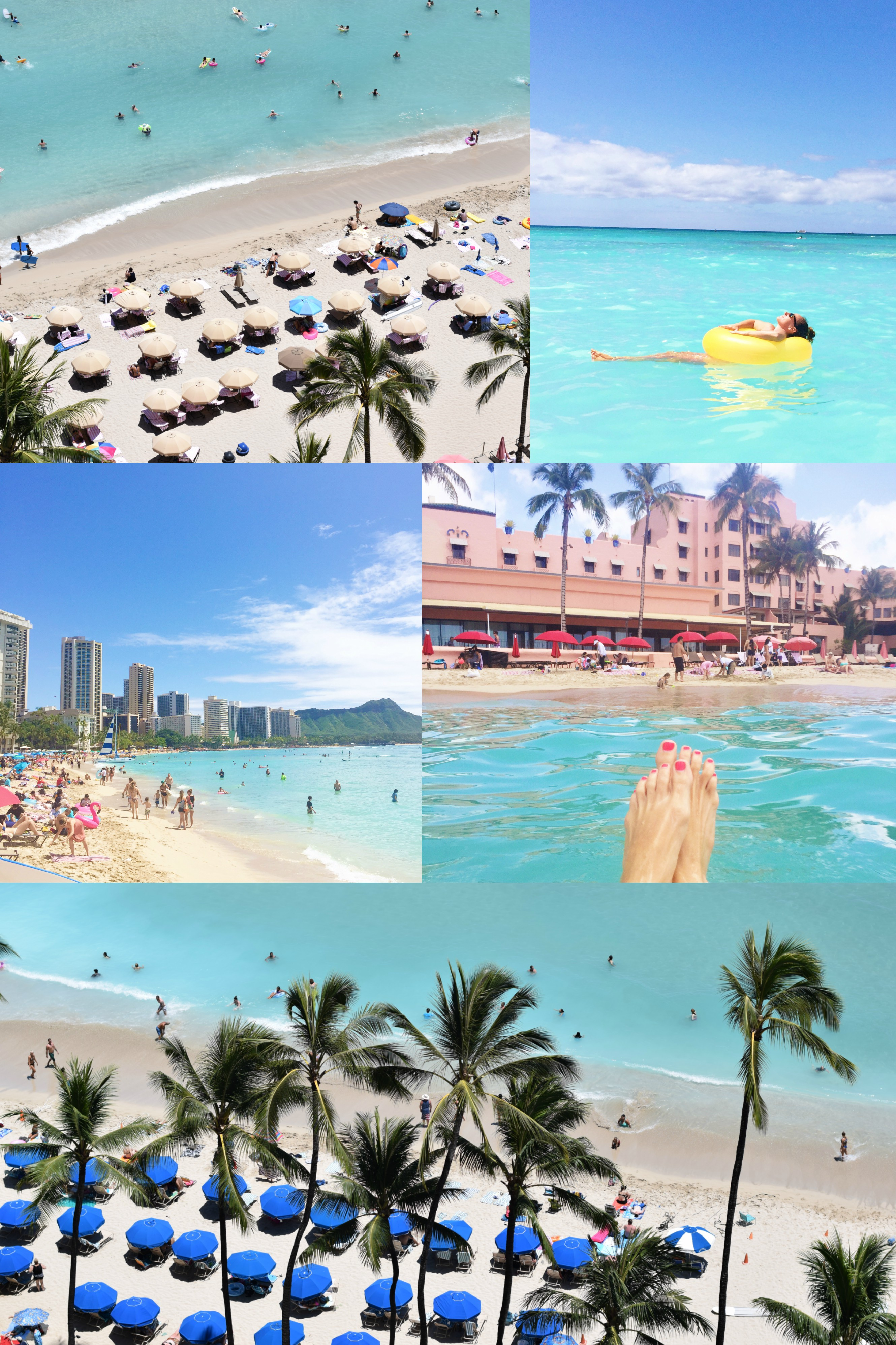 Waikiki Beach - The Instagram Guide To Honolulu - Instagram Worthy Spots Honolulu - Oahu Guide For Instagram - Best Places To Take Photos Honolulu - Oahu Vacation Guide - Where To Visit Hawaii - Hawaii Itinerary - Communikait by Kait Hanson