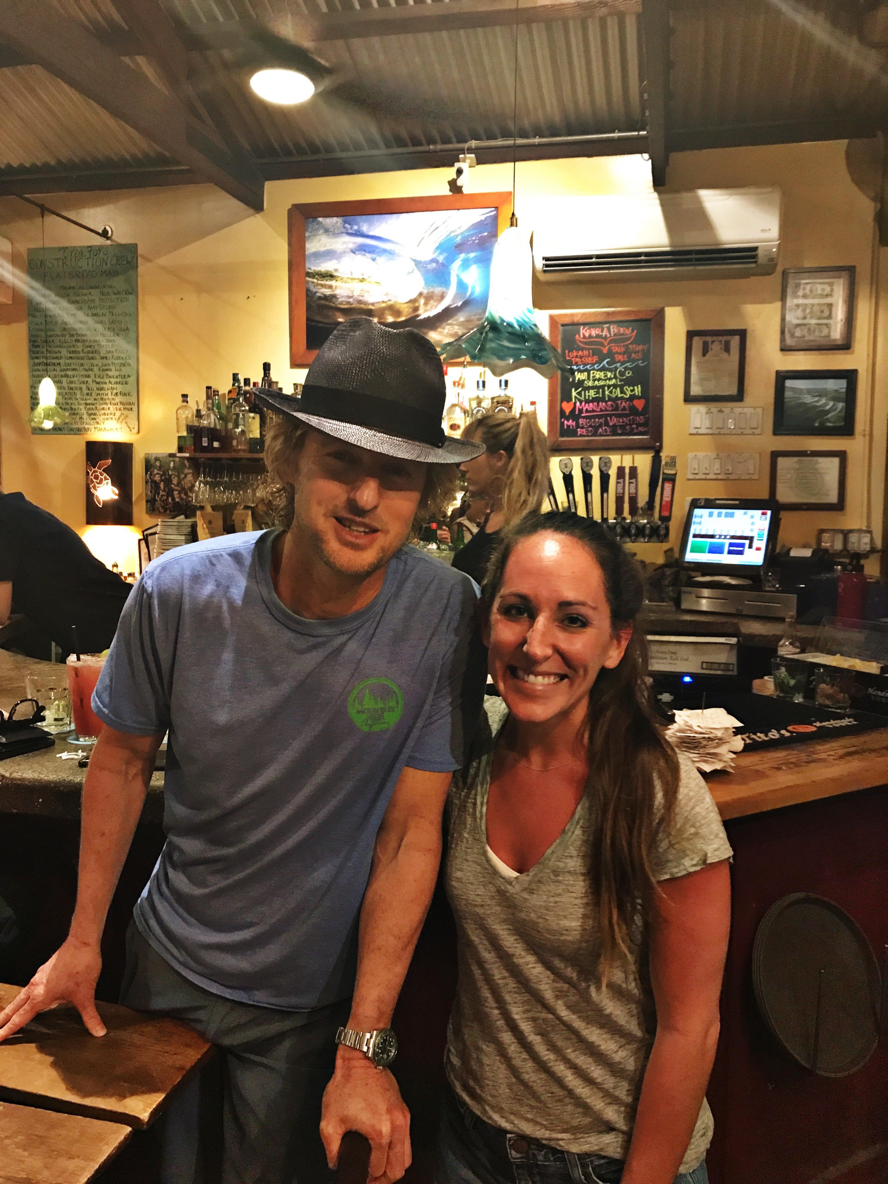 Owen Wilson In Maui