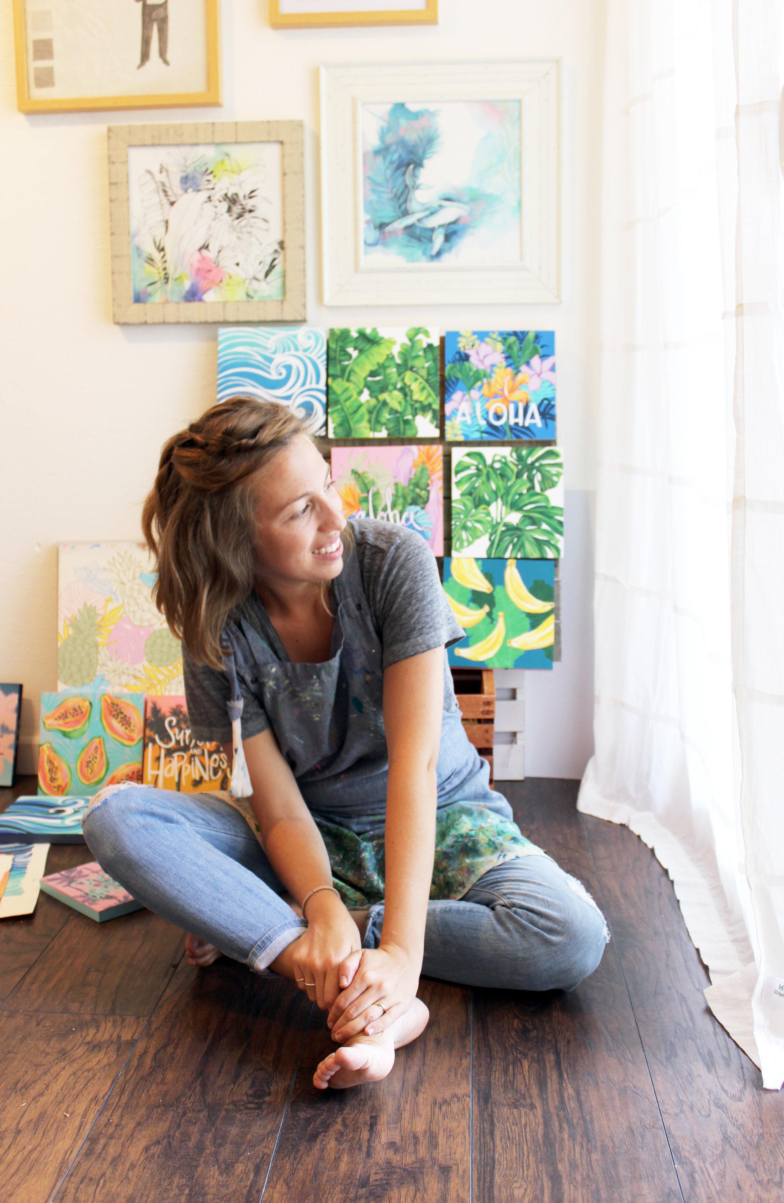 Lauren Roth - Loving Lately - Female Artist Edition - Hawaii Artists - Communikait by Kait Hanson