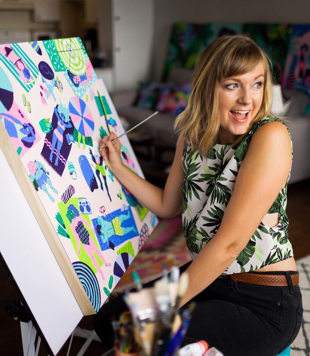 Kim Sielbeck - Loving Lately - Female Artist Edition - Hawaii Artists - Communikait by Kait Hanson