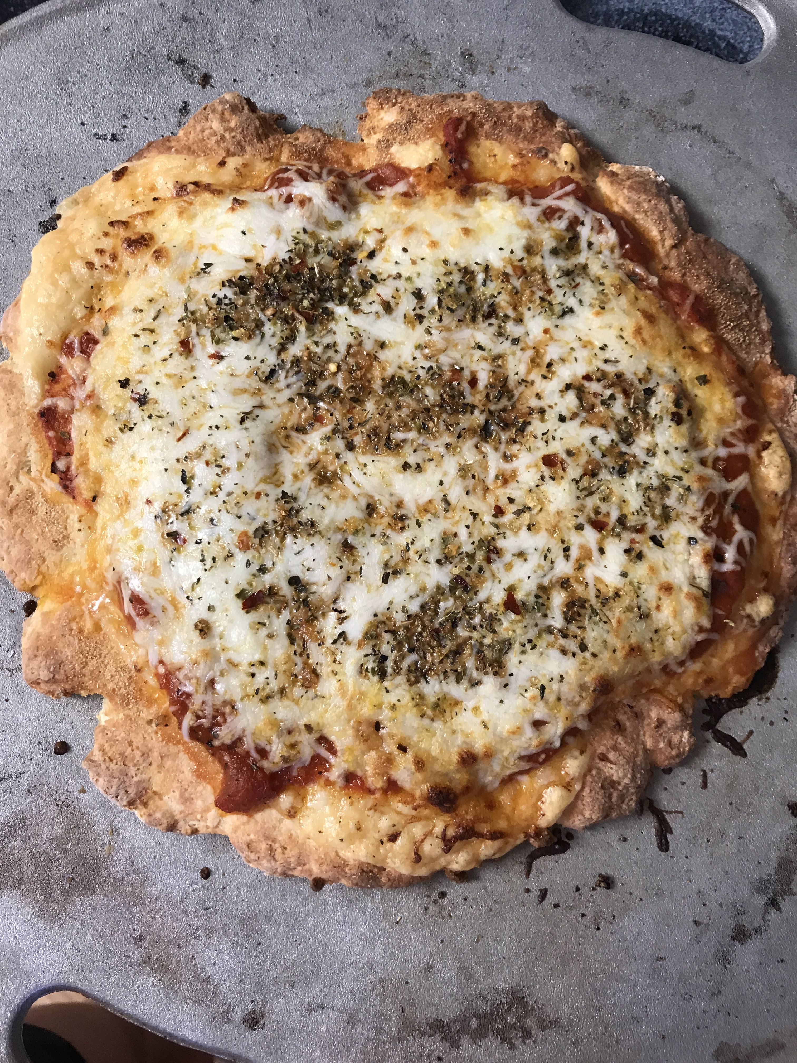 2 Ingredient Pizza Dough - Currently - Communikait by Kait Hanson