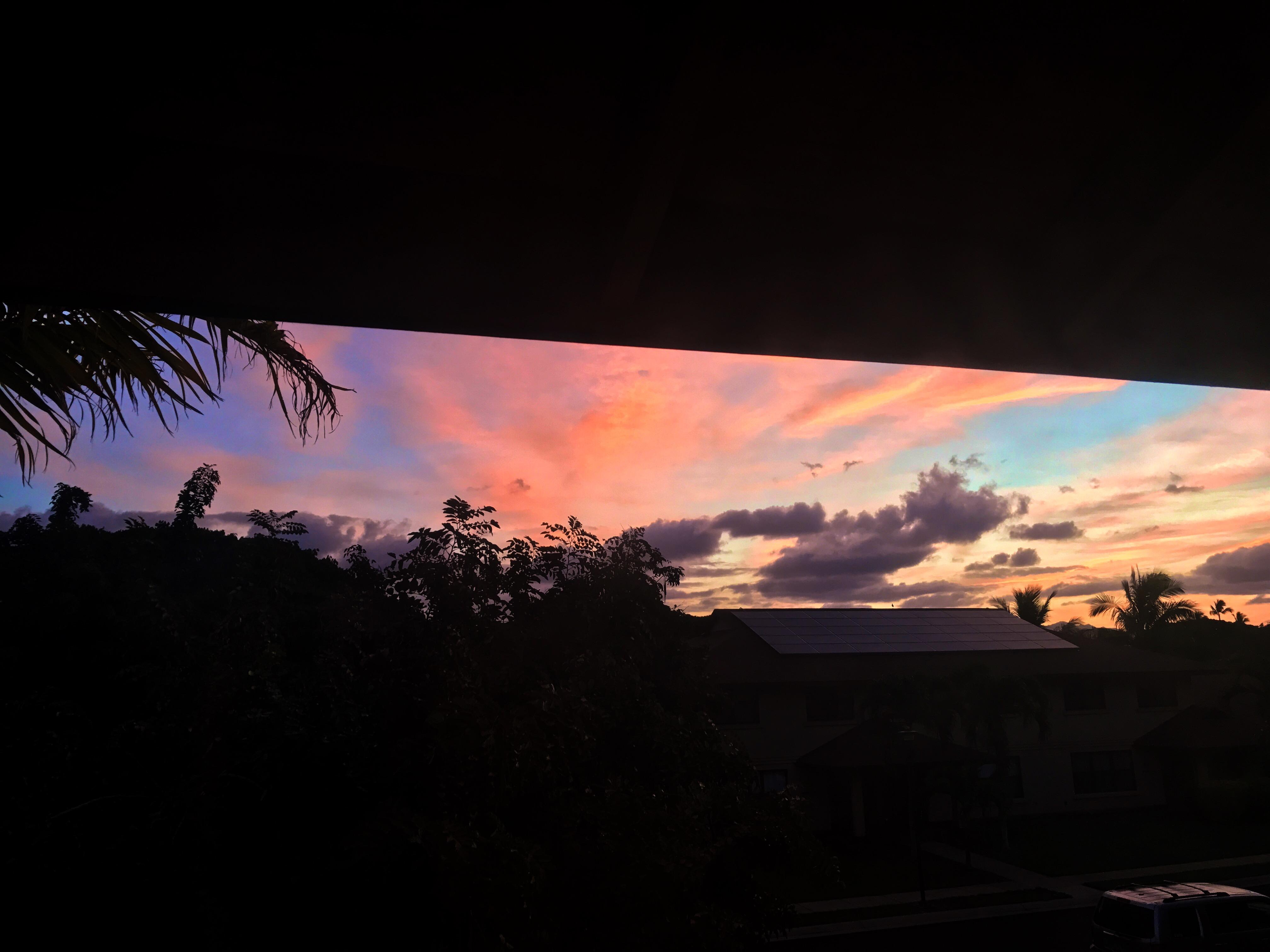 Our Weekend Recap - Hawaiian Sunrise - Communikait by Kait Hanson
