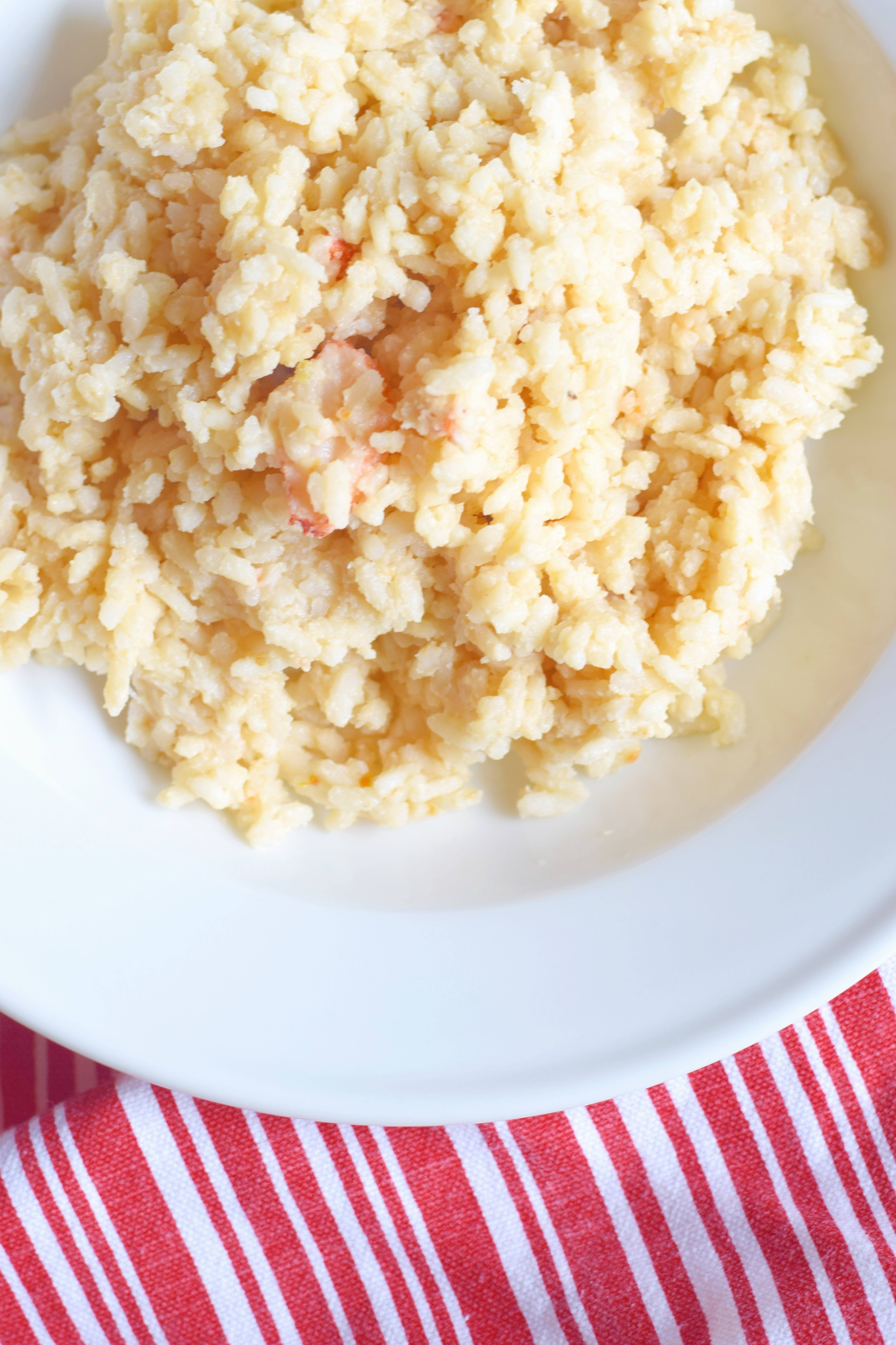 Dairy Free Lobster Risotto - Seafood Risotto Recipe - Easy Risotto Recipe - Gluten Free Risotto - Dairy Free Dinner Idea - Lobster Risotto Recipe - Easy Risotto Ingredients - Seafood Dinner Recipe - Communikait by Kait Hanson