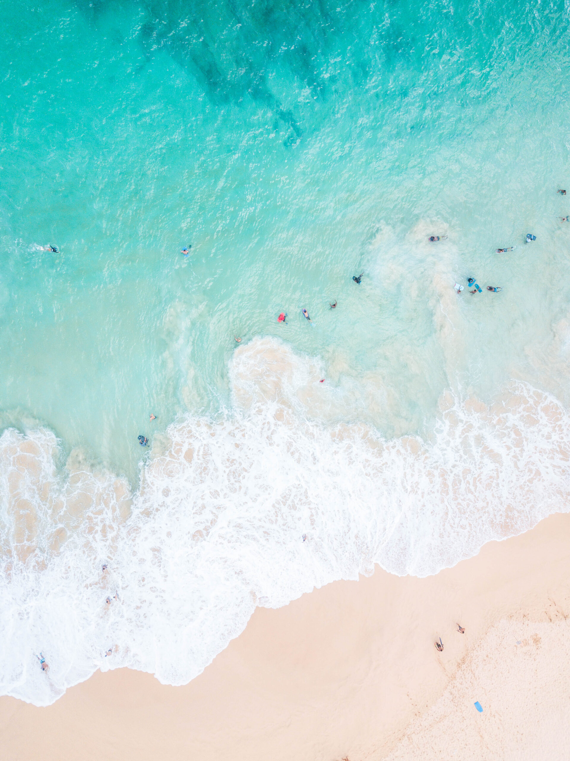 Beach Drone Photography