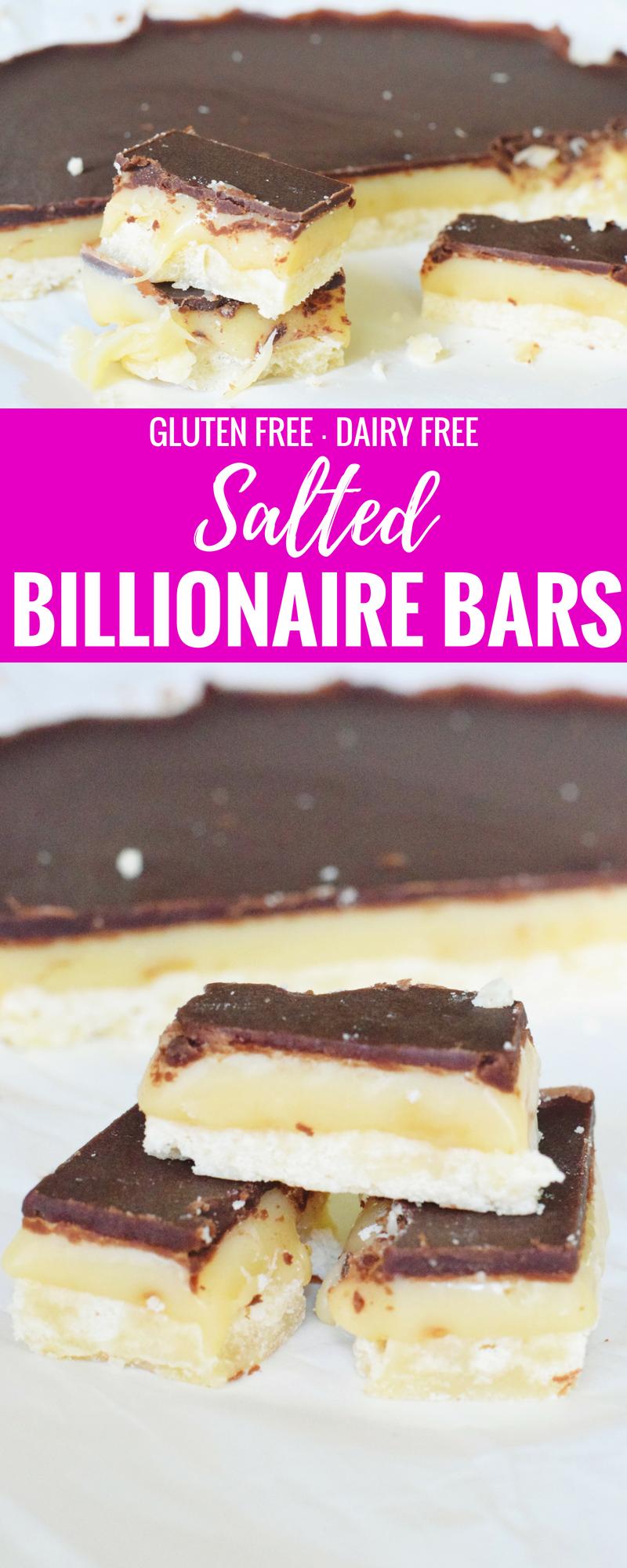 Salted Billionare Bars - Summer Dessert Recipe - Easy Dessert Recipe - Gluten Free Dessert - Dairy Free Dessert - Communikait by Kait Hanson