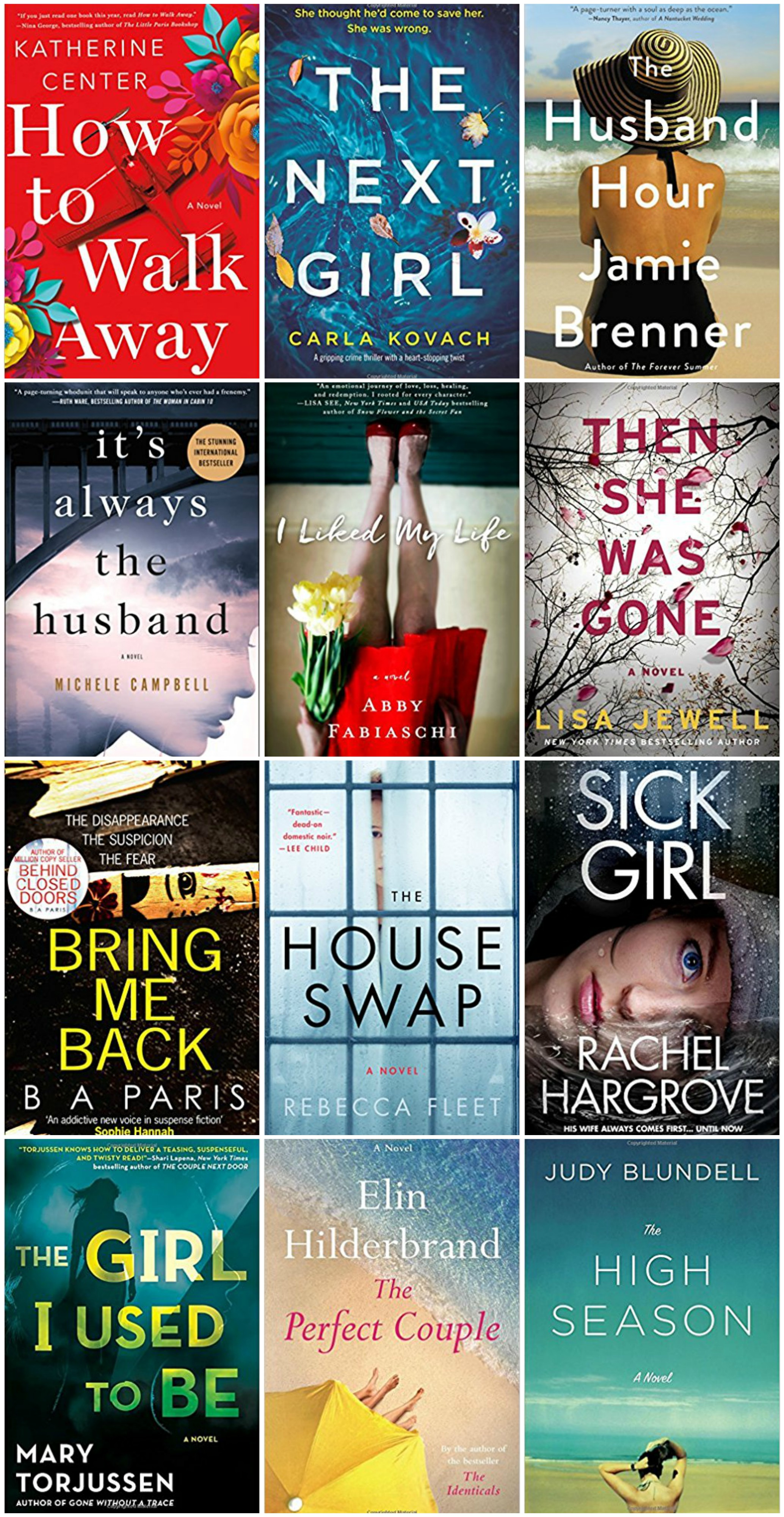 12 Beach Reads For Summer - Summer Books To Read - Books For Women - Psychological Thrillers - Fiction Books To Read This Summer - Communikait by Kait Hanson