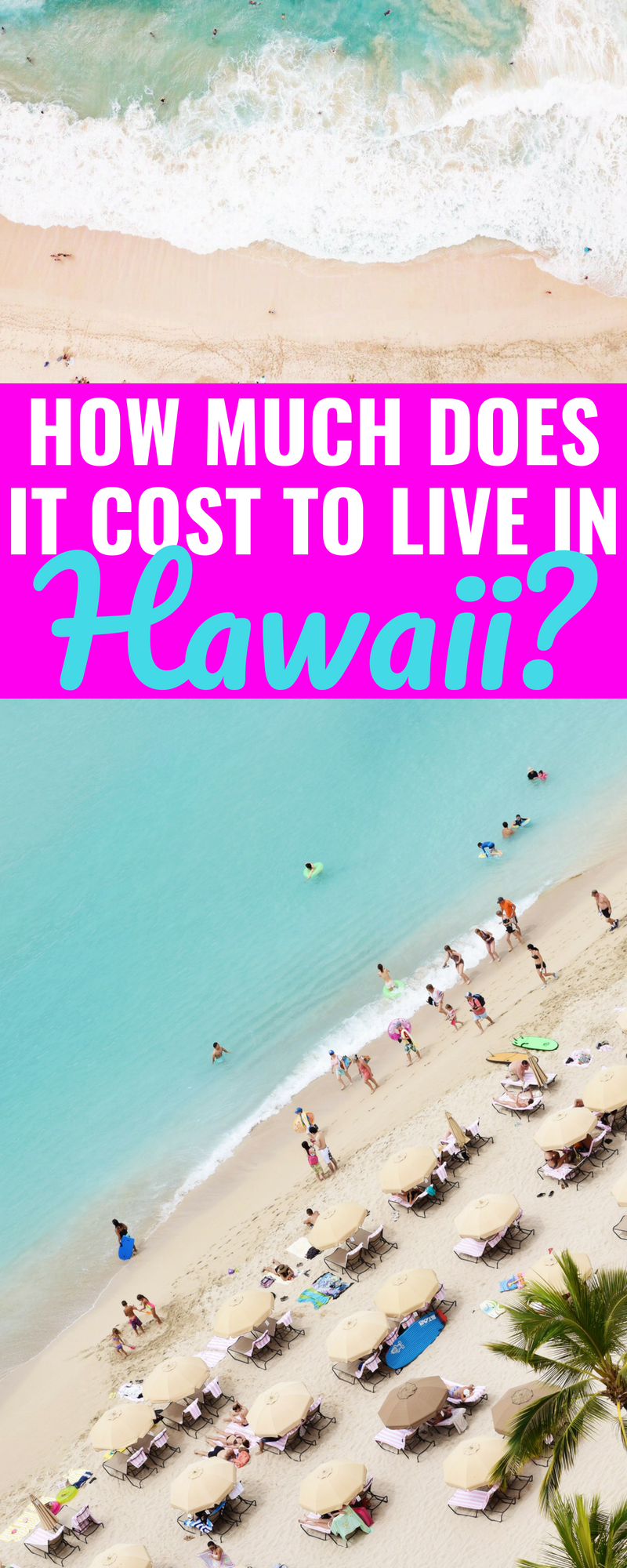 How Much Does It Cost To Live In Hawaii? - Average Cost of Living In Hawaii - What Is The Cost Of Living In Hawaii - Price Of Living In Hawaii - Living Expenses Hawaii - Hawaii Cost Of Living - Budget For Hawaii - Communikait by Kait Hanson #hawaii #oahu #budget #finances #military #costoflivinginhawaii