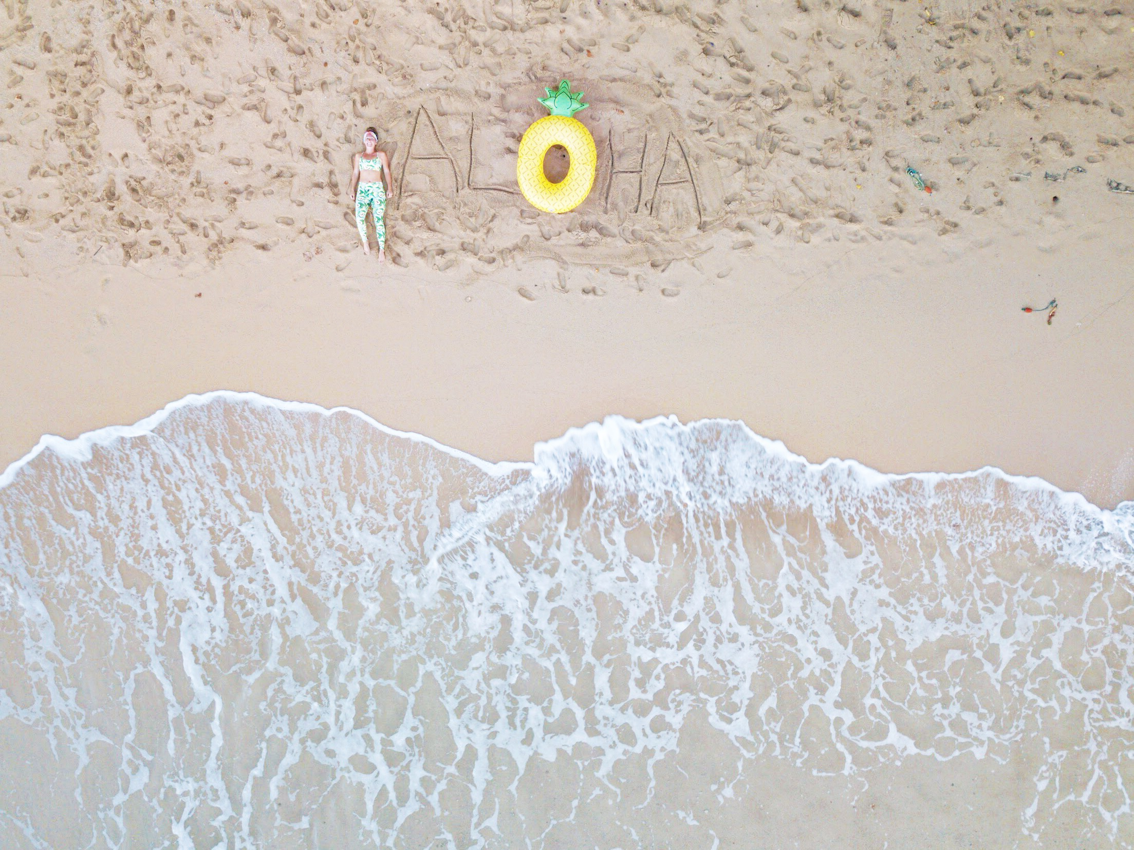 ALOHA - Hawaii - Drone Photography - 5 On Friday - Communikait by Kait Hanson