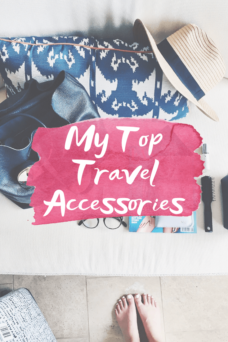 Travel Accessories I Actually Use - Travel Hacks - Travel Accessories - International Travel Must Haves - Communikait by Kait Hanson #travel #travelhacks #wanderlust #travelaccessories