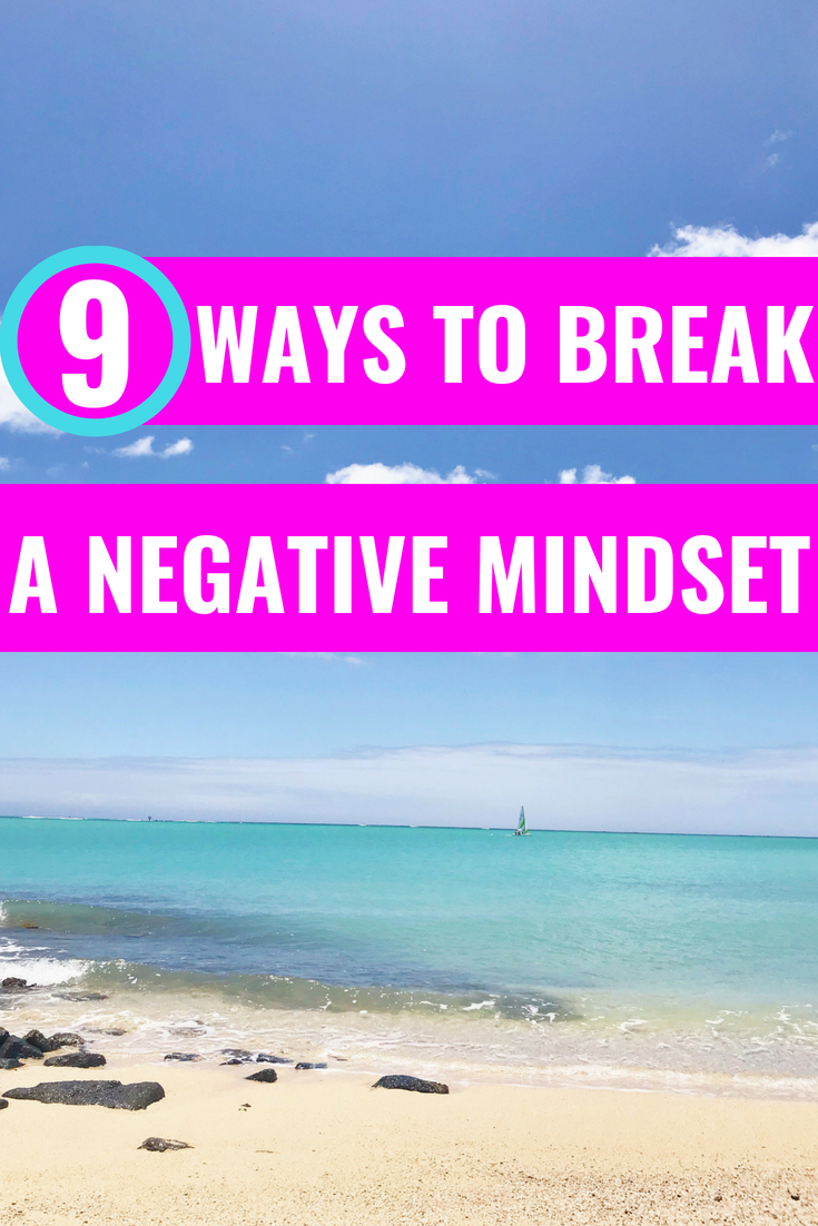 The Power Of Positive Thinking: 9 Ways To Break A Negative Mindset - Vitamin Water - Self Help - Personal Development - Manifestation Tips - Communikait by Kait Hanson