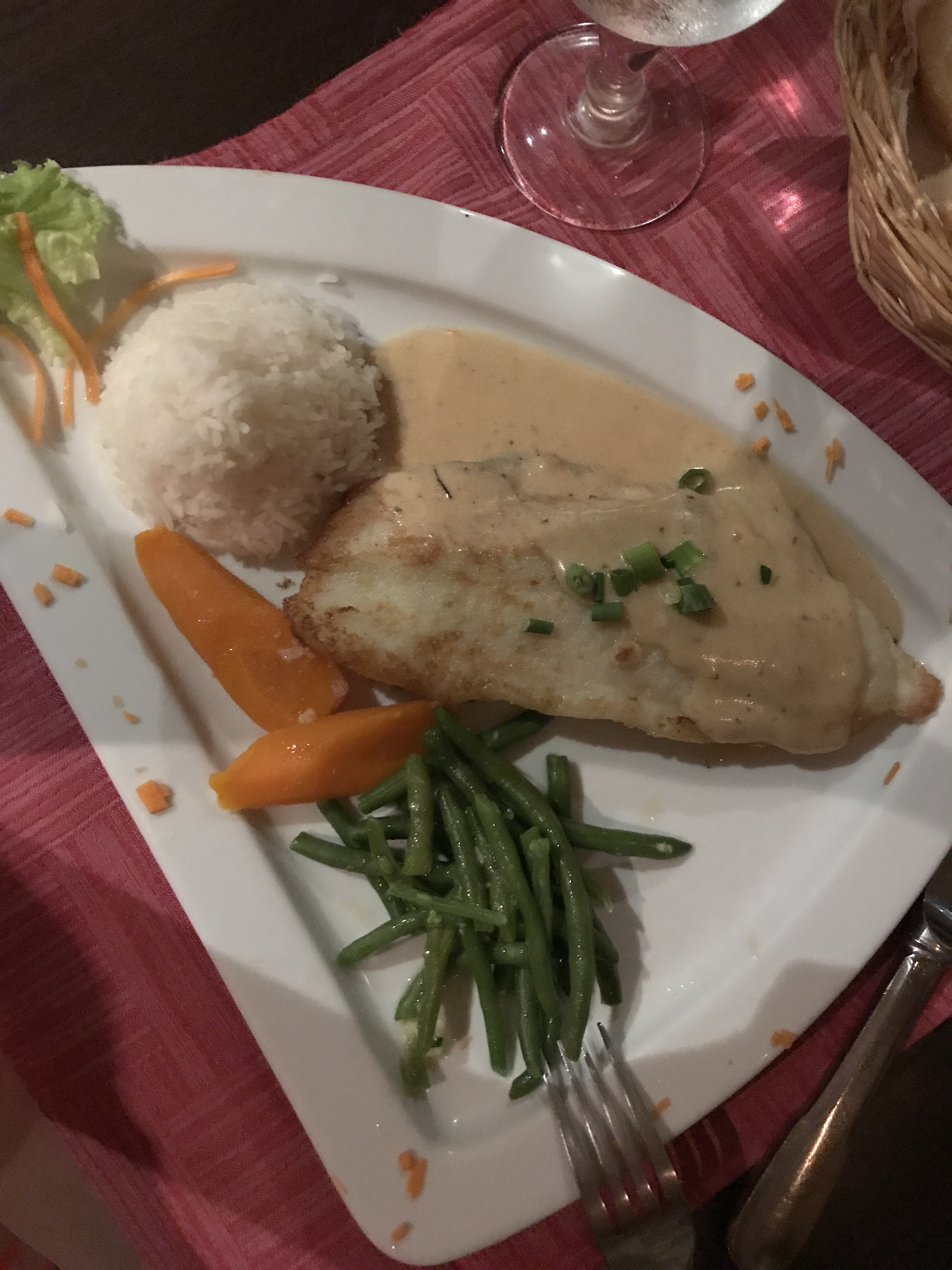 Stuffed Parrotfish - Rudy's Moorea - 10 All-Time Favorite Foods - Communikait by Kait Hanson
