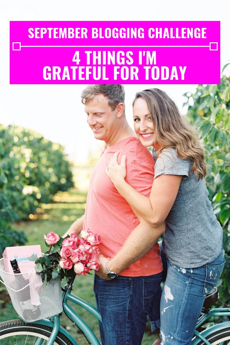 4 Things I'm Grateful For Today - September Blogging Challenge - Communikait by Kait Hanson
