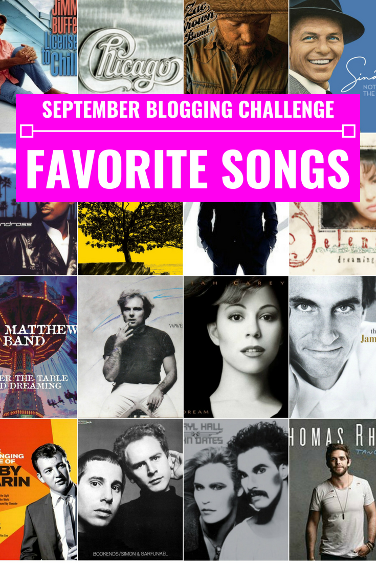 My Favorite Songs - September Blogging Challenge - Communikait by Kait Hanson