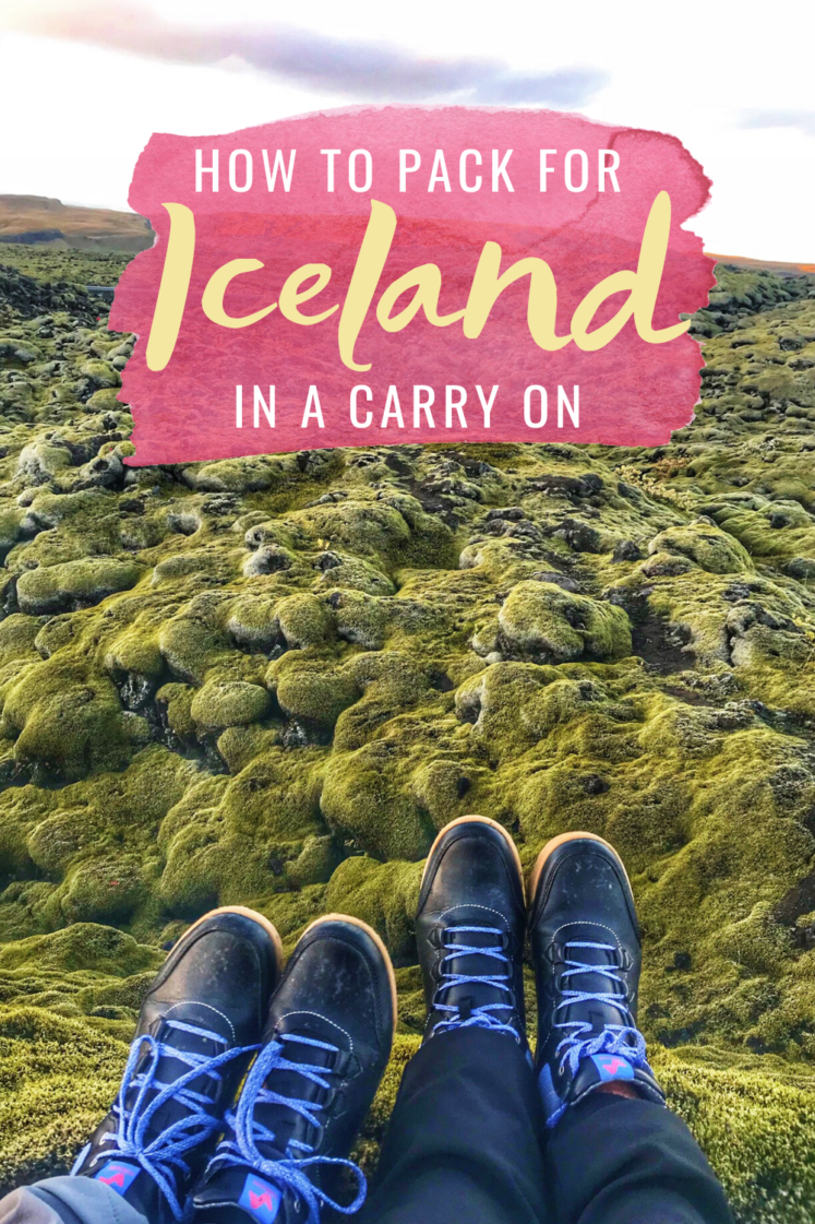 How To Pack For Iceland In A Carry-On