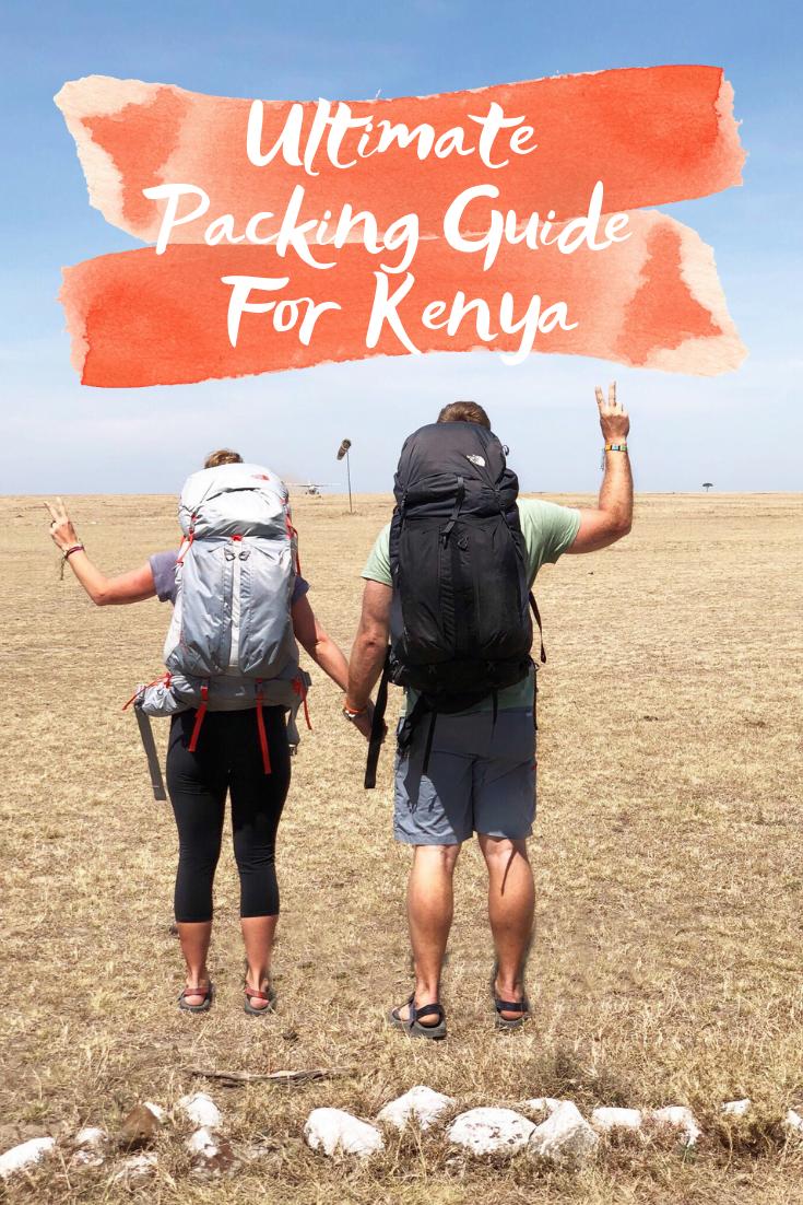 Kenya Safari Packing List - What To Take On Safari In Kenya - Best Shoes For Kenya Safari - Packing List for Masai Mara - Maasai Mara Packing List - Tsavo West Packing List - What To Wear On Safari - What To Pack For Kenya - Safari Packing List - Packing List For African Safari - African Safari Packing List - Backpacking Safari - Packing In A Backpack - The North Face Banchee Packs - #africa #travel #travelblog #kenya #packinglist