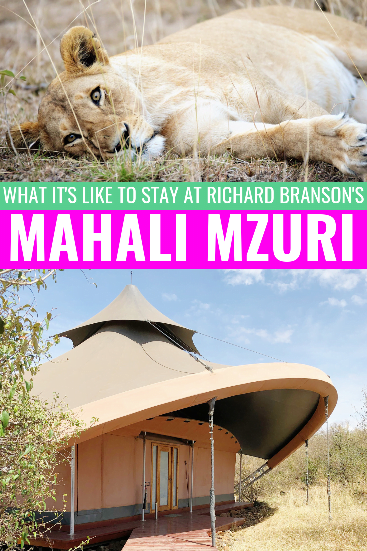 Our Stay At Sir Richard Branson's Mahali Mzuri In Maasai Mara, Kenya