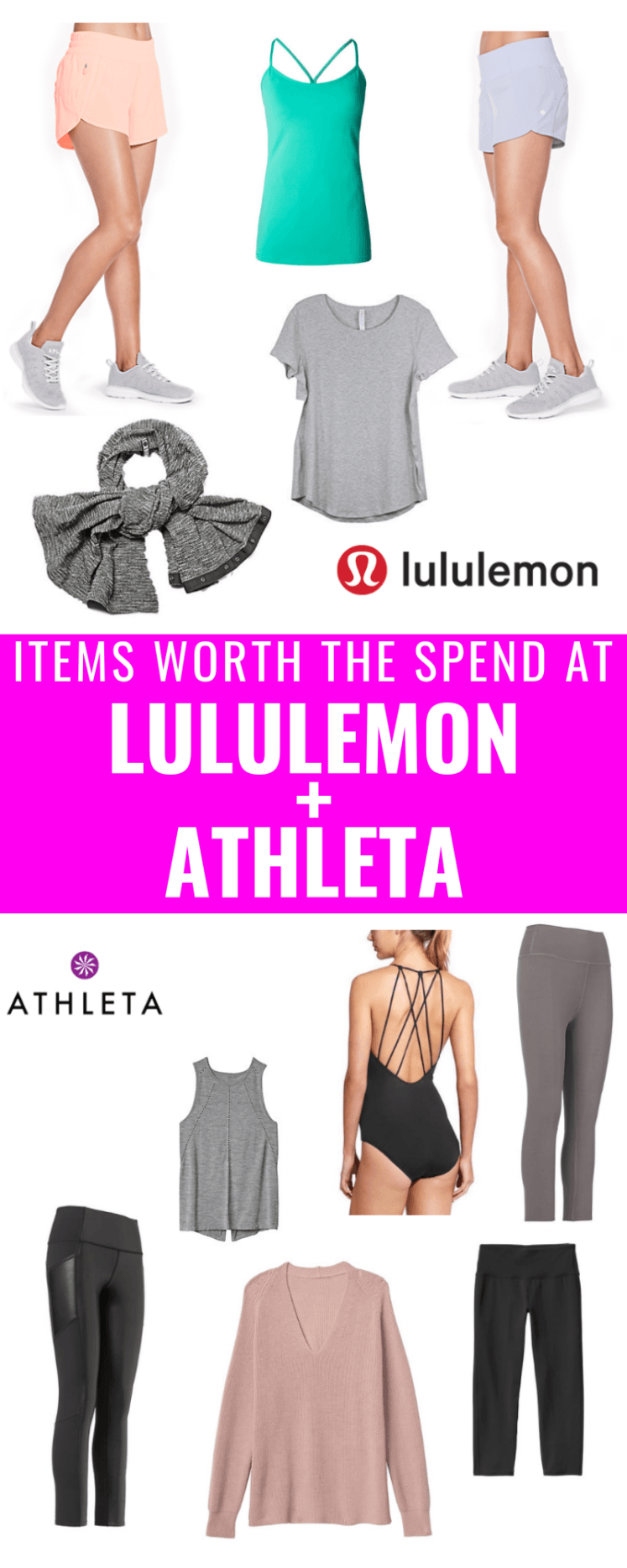 Items Worth The Spend At Lululemon + Athleta