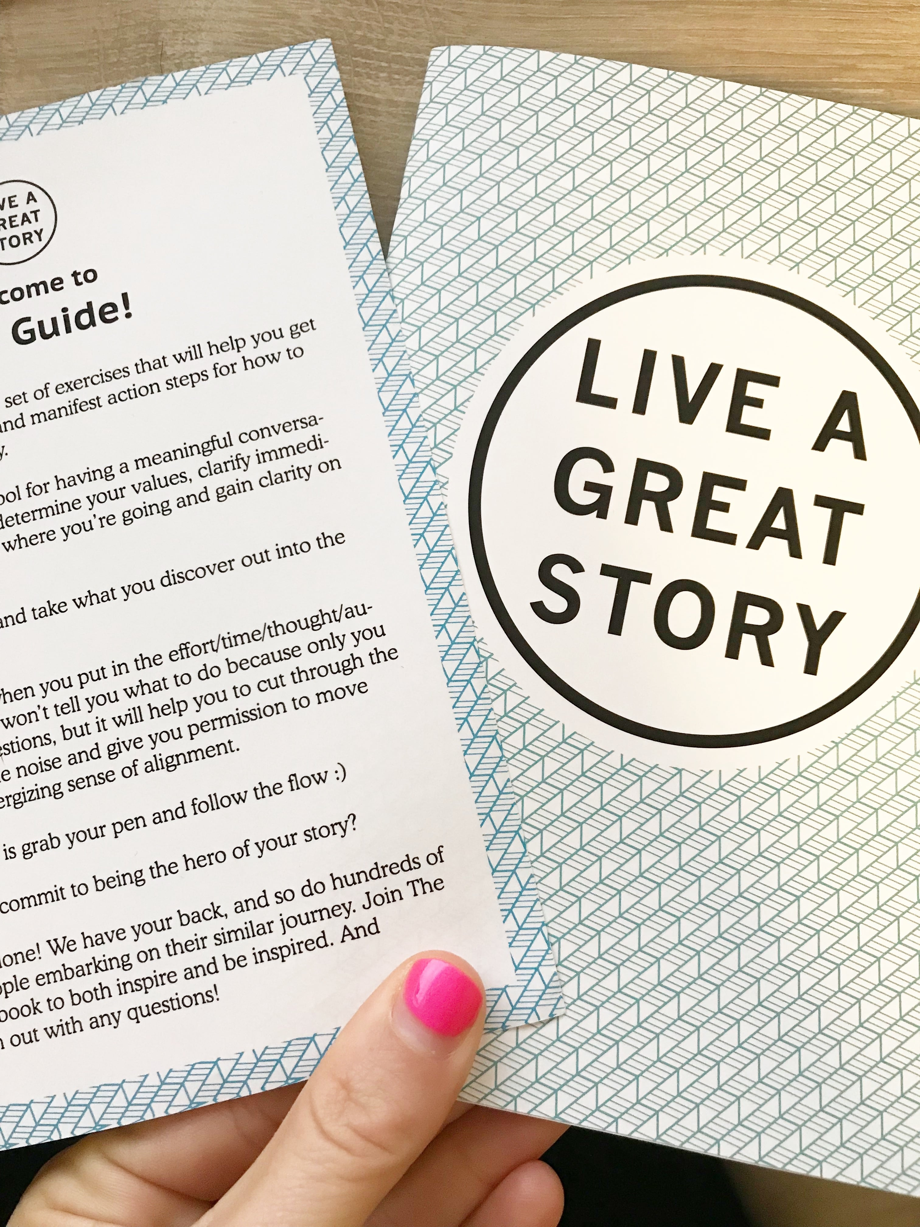 Live A Great Story - Review