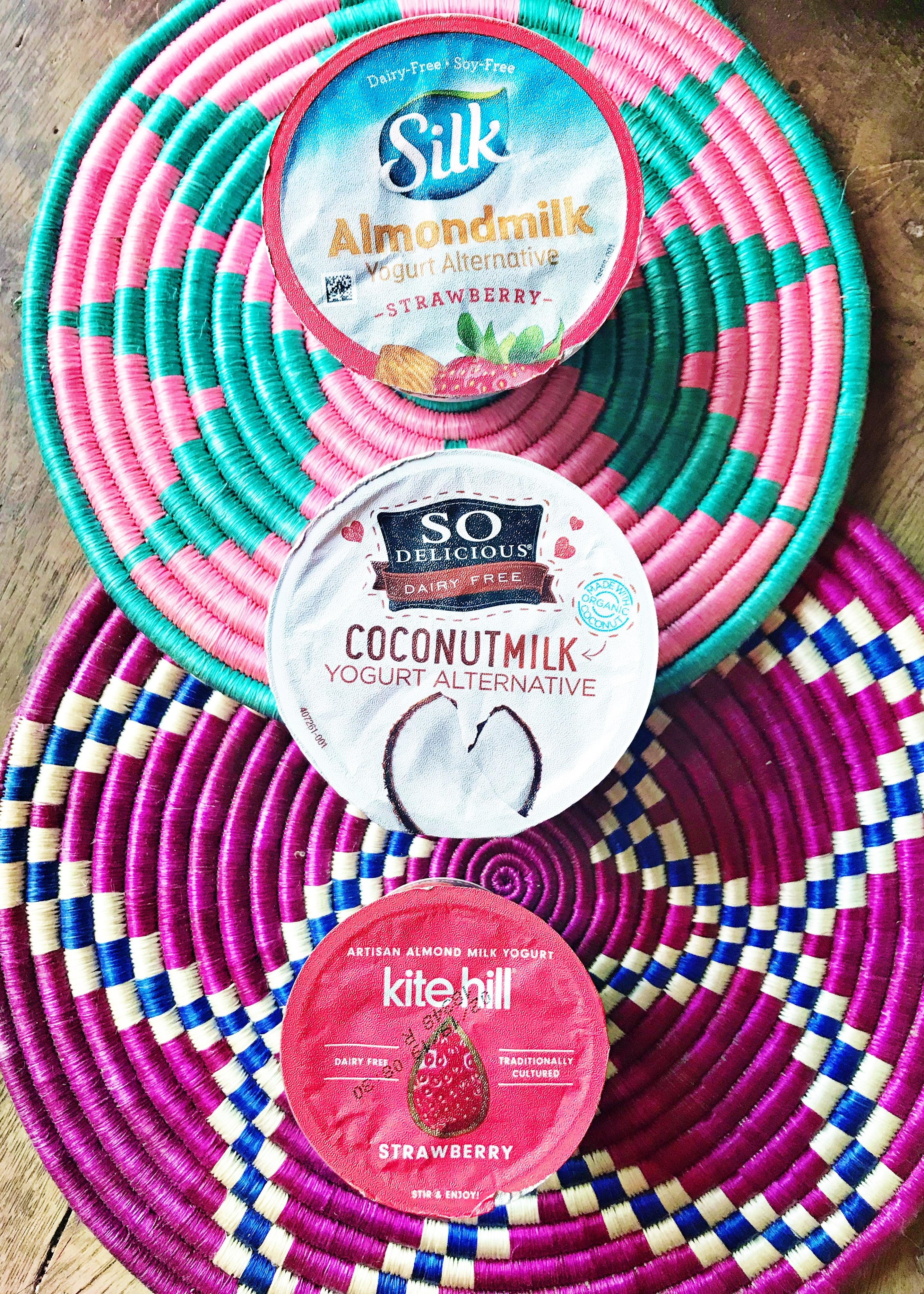 DAIRY FREE YOGURT TASTE TEST | Dairy Free Yogurt - Dairy Free Yogurt Brands - Silk Dairy Free Yogurt - Almondmilk Yogurt - So Delicious Yogurt - Kite Hill Yogurt - Milk Free Yogurt - Where Can I Buy Dairy Free Yogurt - Gluten And Dairy Free Yogurt - Plant Based Yogurt #dairyfree #silk #kitehill #sodelicious