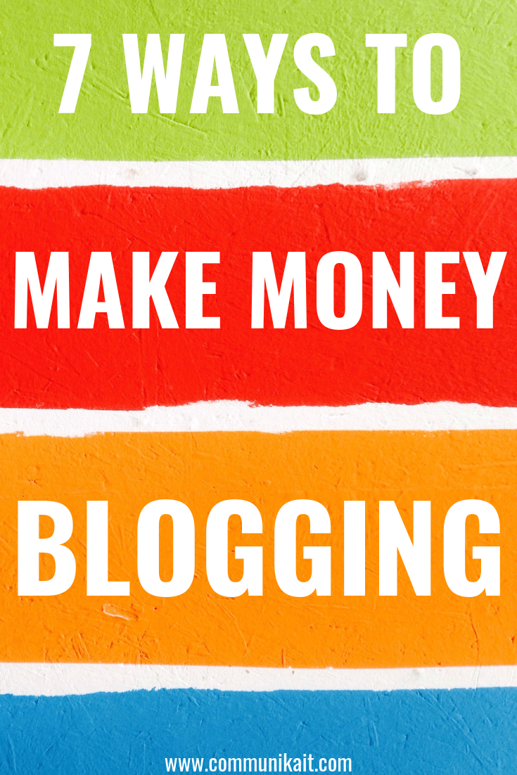 Why You Need to Diversify Your Blog Income + How To Make Money Blogging