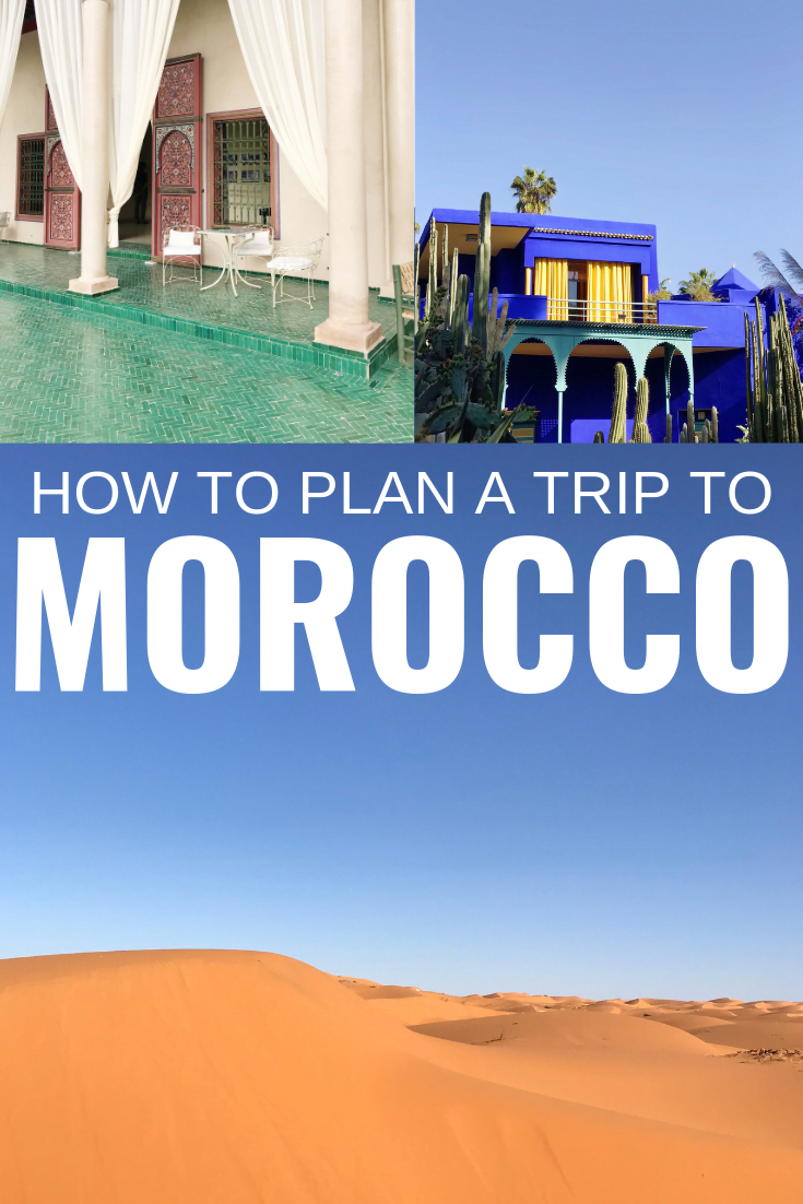 PLANNING A TRIP TO MOROCCO - All the details that went into planning our trip to Morocco, as well as some of the questions I got during our travels! | Planning A Trip To Morocco - Planning A Trip To Marrakech - Planning A Trip To Fes - How To Plan A Trip To Morocco - Morocco Trip Planning - Morocco Travel Blog - FAQ Morocco - #morocco #travel #travelblog