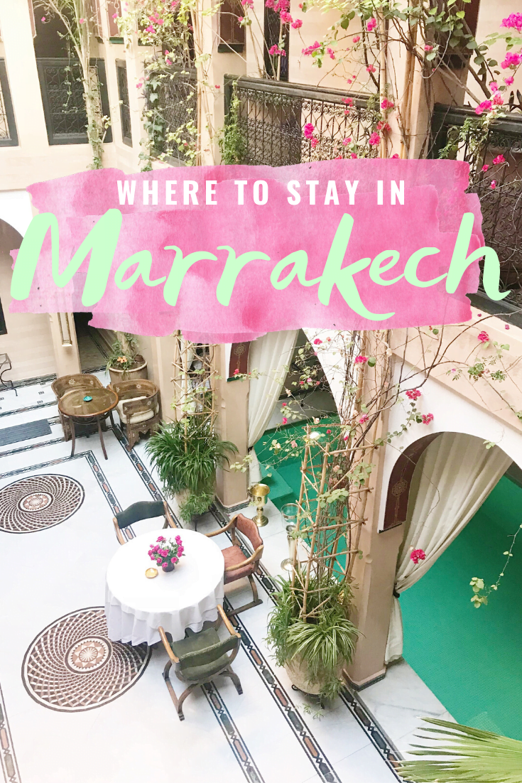 Our Stay At Riad Dar Anika In Marrakech, Morocco