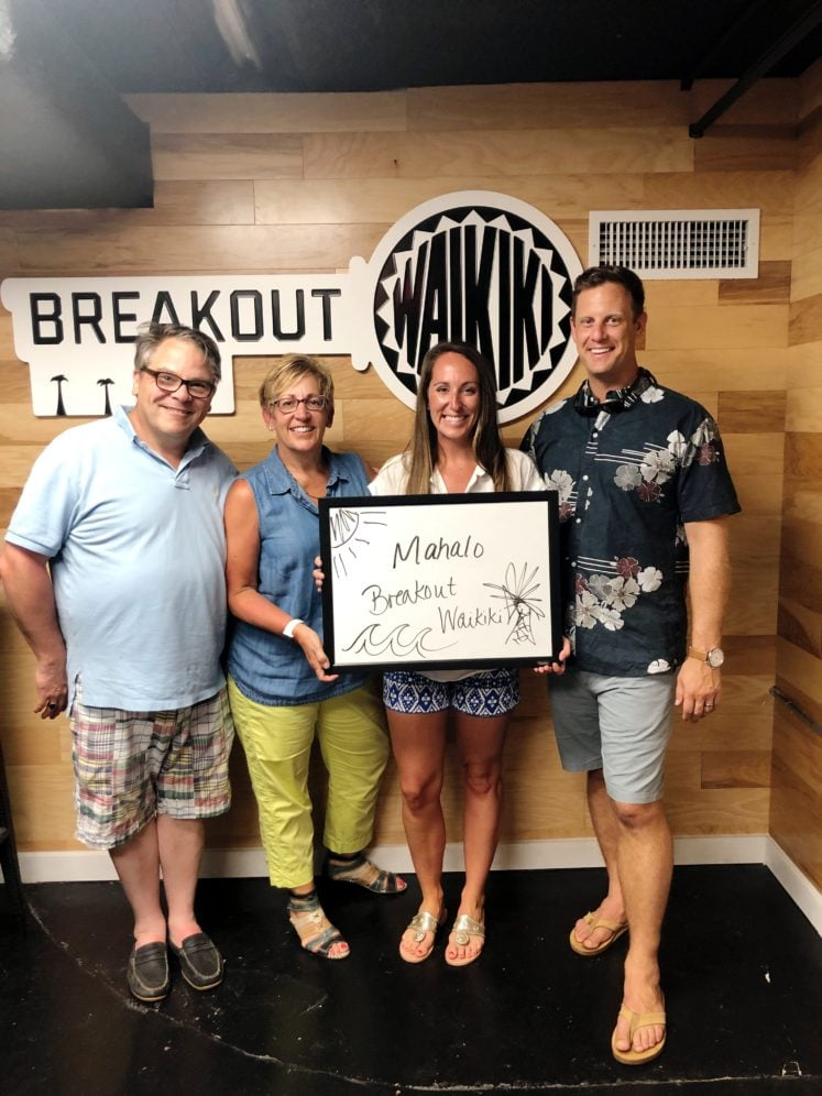 Our Second Experience At Breakout Waikiki Escape Room Honolulu