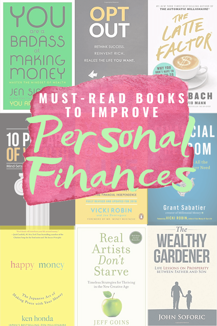 Must Read Books To Improve Personal Finances