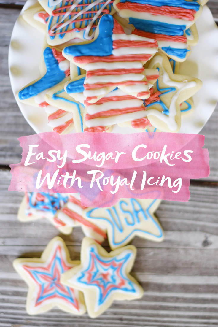 Easy Sugar Cookies With Royal Icing - The best sugar cookie recipe, complete with a delicious royal icing recipe that creates beautiful + delicious cookies!