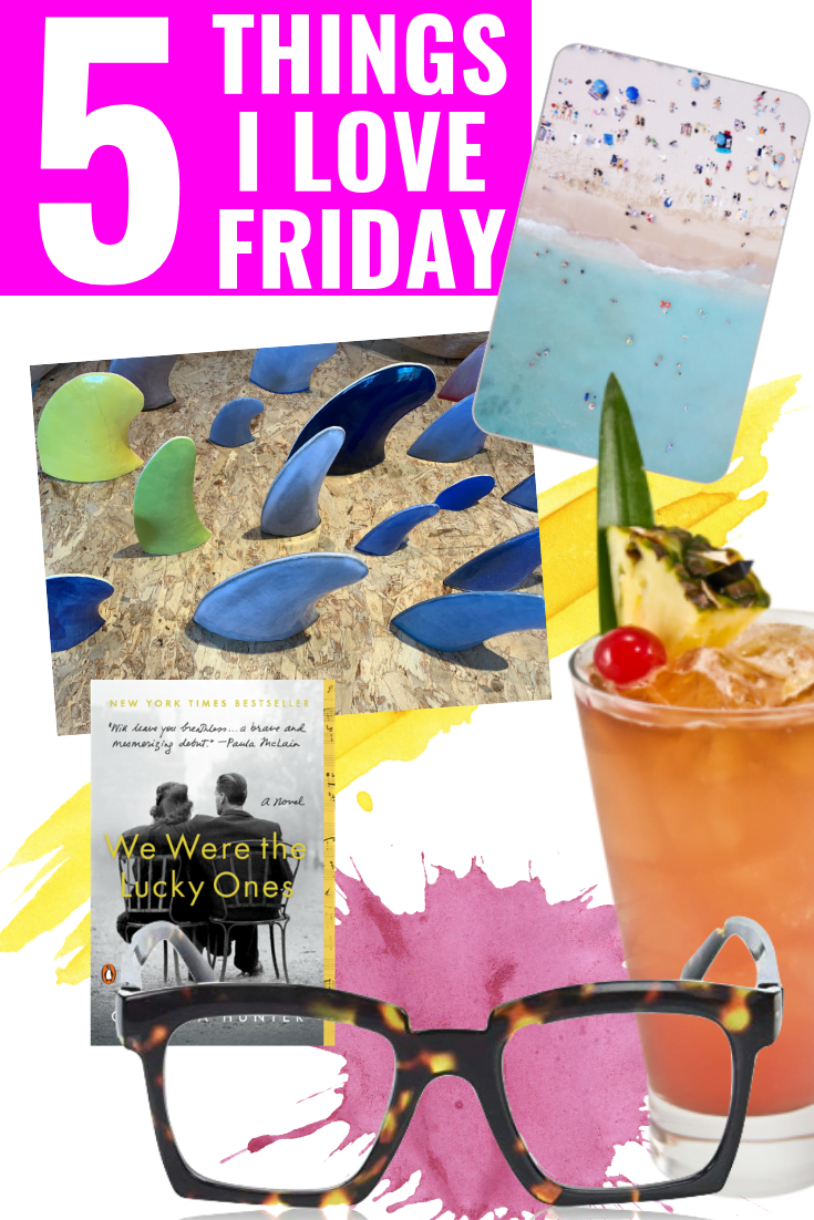 5 Things I Love Friday - Peepers Glasses - We Were The Lucky Ones - Moo Business Cards - Polu Gallery
