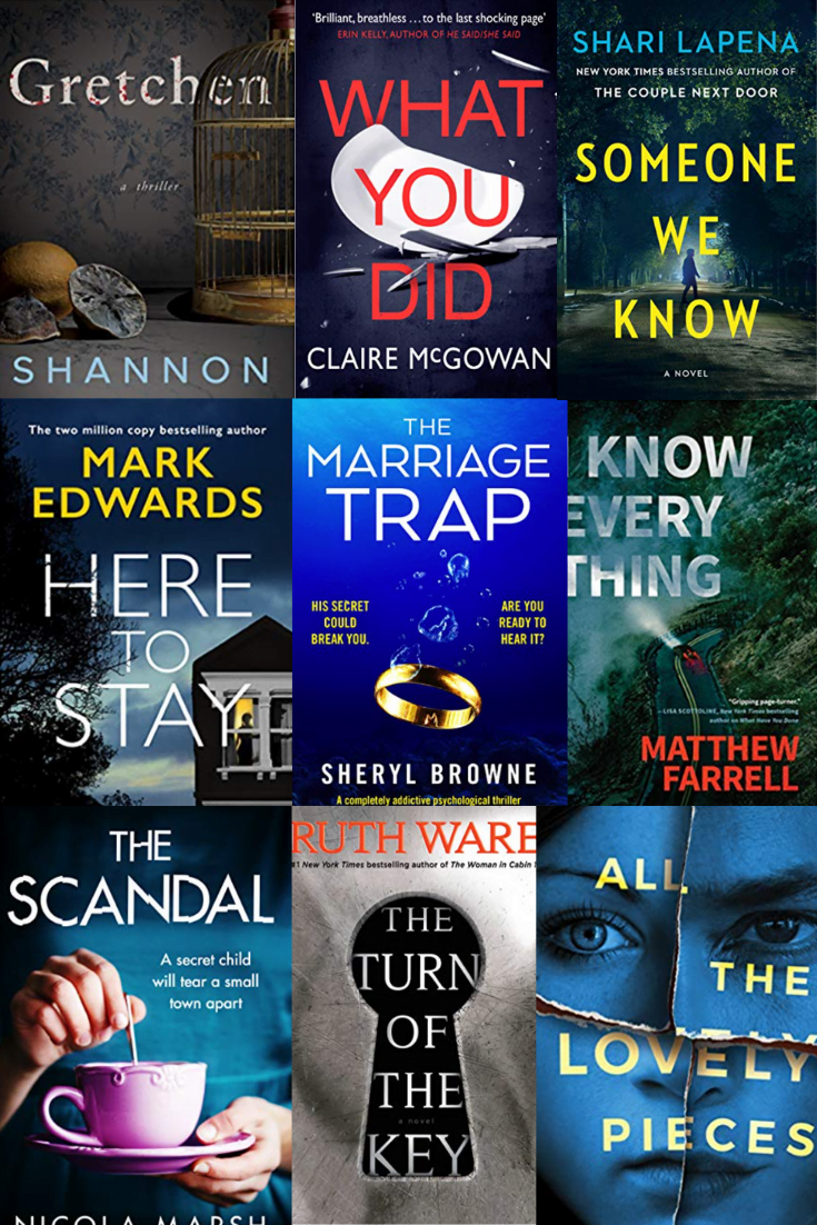 9 NEW PSYCHOLOGICAL THRILLERS FOR FALL 2019 - 9 new psychological thriller books to read this fall that will keep you on the edge of your seat! | Best Psychological Thrillers - New Psychological Thrillers - Best Thrillers To Read - Psychological Thriller Books