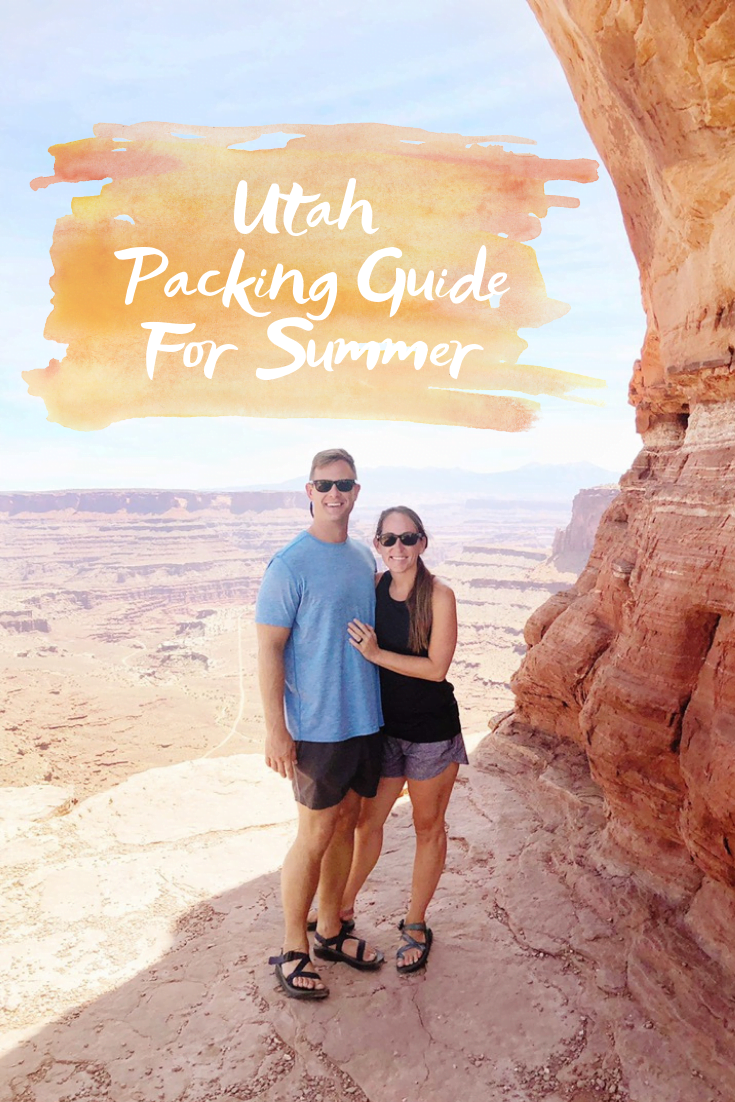 Utah Packing Guide For Summer - Sharing my complete packing list for visiting Utah in the summer months! - Complete Utah Packing List