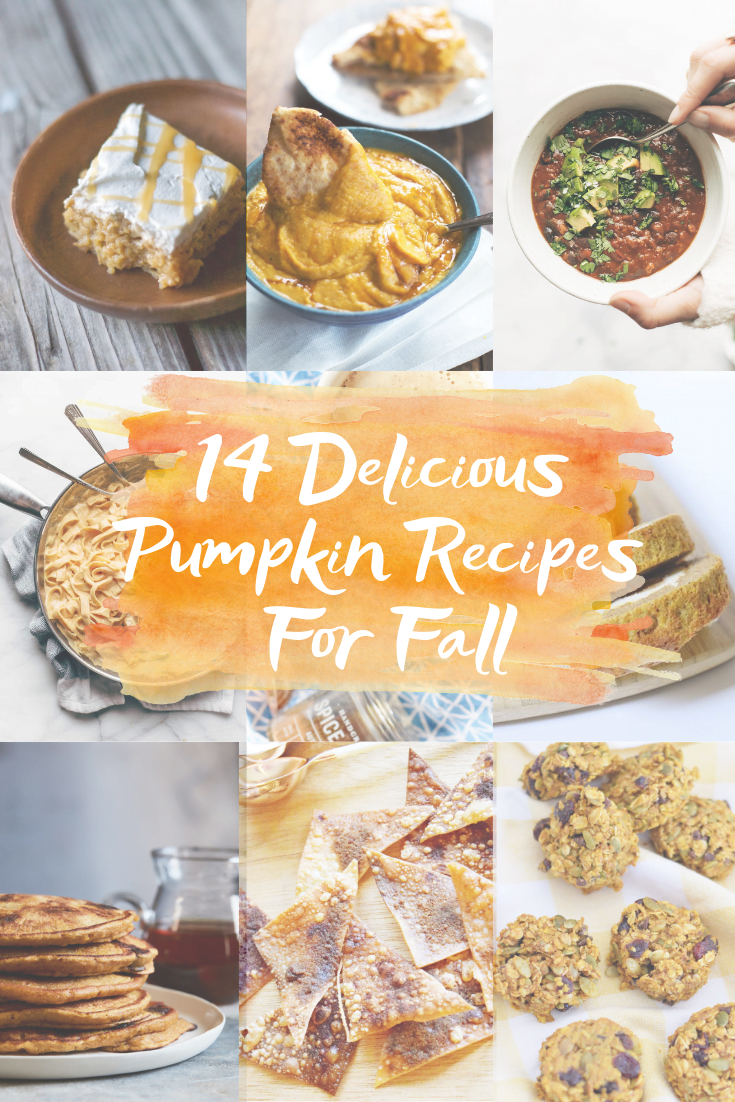 14 Best Pumpkin Recipes - 14 new pumpkin recipes to try this fall that include pumpkin rolls, pumpkin lasagna, pumpkin coffee and more! | Best Pumpkin Recipes - Amazing Pumpkin Recipes - Pumpkin Recipes - Pumpkin Dishes - Easy Pumpkin Recipes - Pumpkin Cooking Ideas #fall #recipe