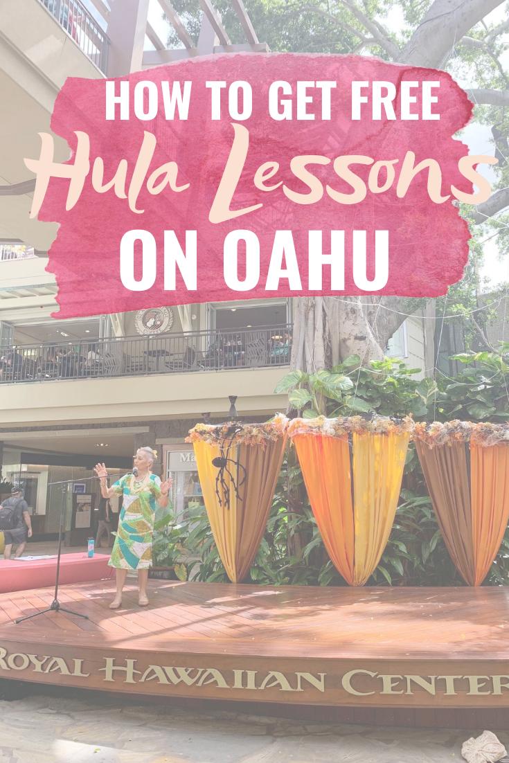 Free Hula Lessons At Royal Hawaiian Center