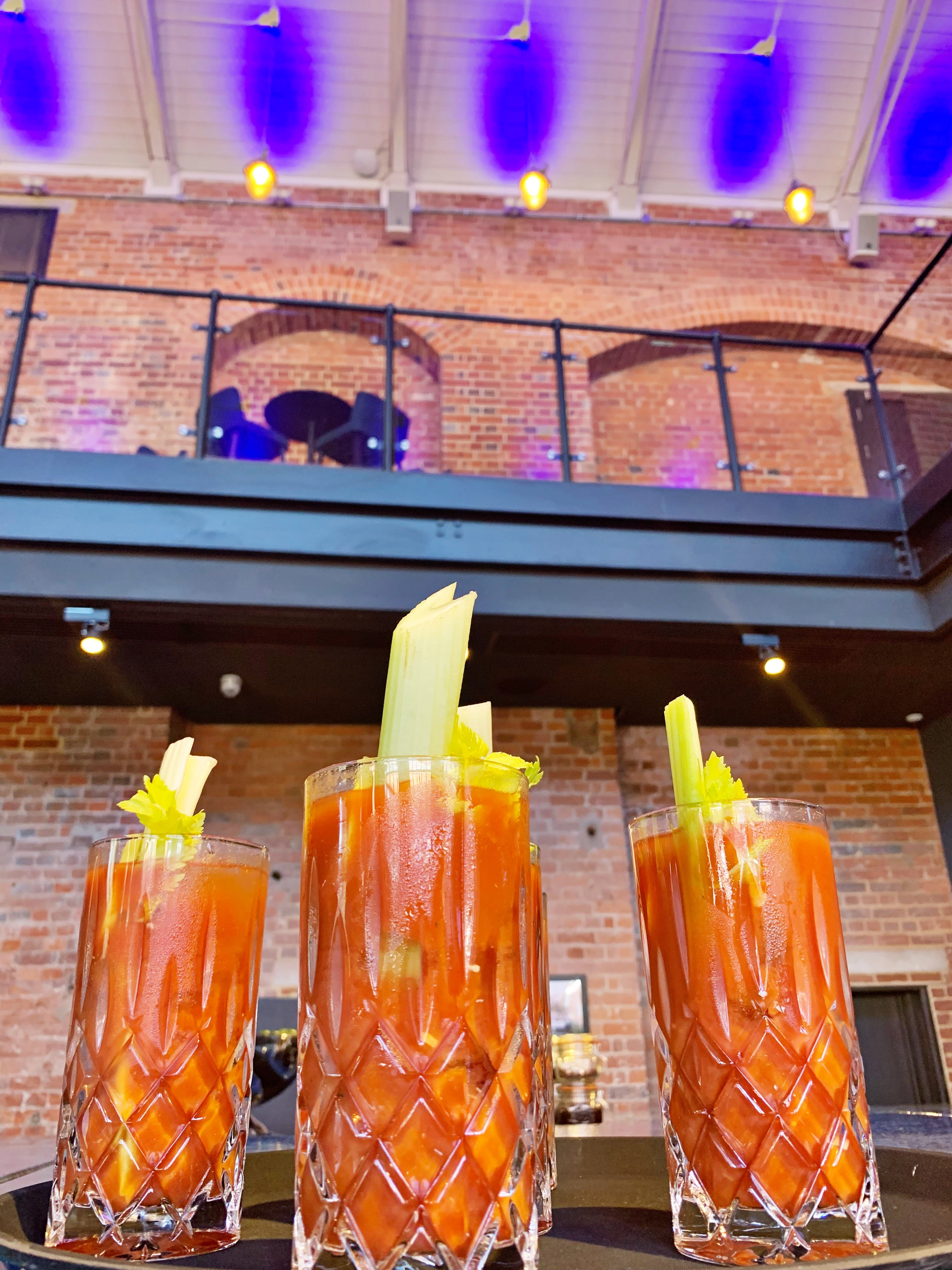 Cocktails at Bombay Sapphire Distillery