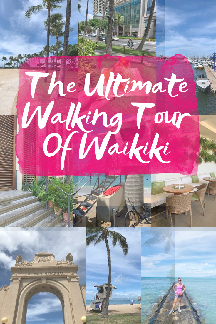 Walking Tour Of Waikiki
