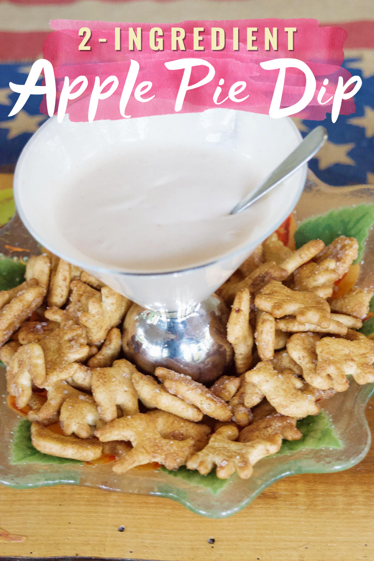Two-Ingredient Best Ever Apple Pie Dip – An Easy Thanksgiving Recipe