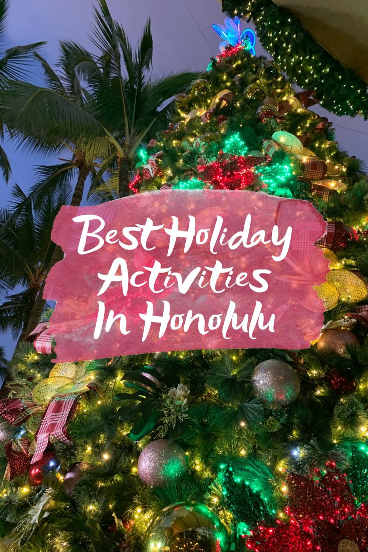 Holiday Events At Royal Hawaiian Center
