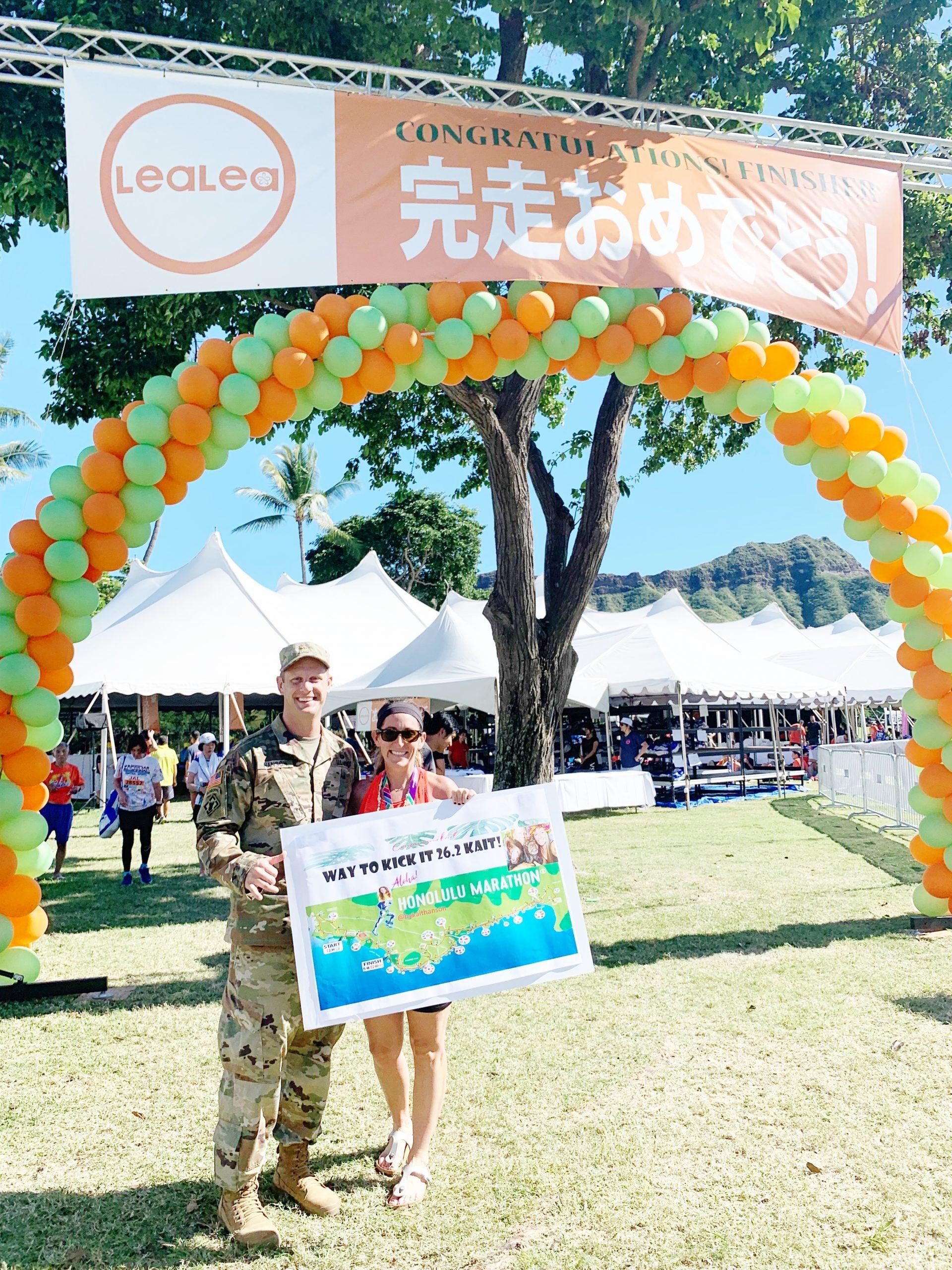 2019 Honolulu Marathon Recap - Honolulu Marathon - Honolulu Marathon Finish Line