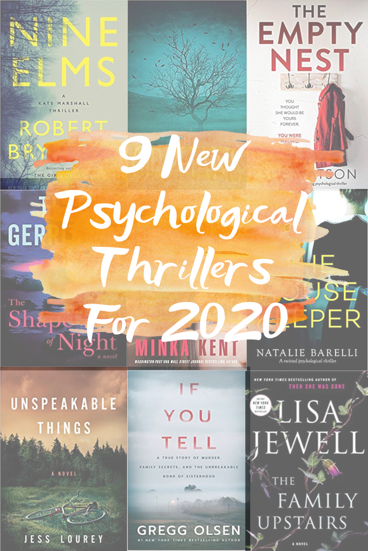 9 New Psychological Thrillers For 2020